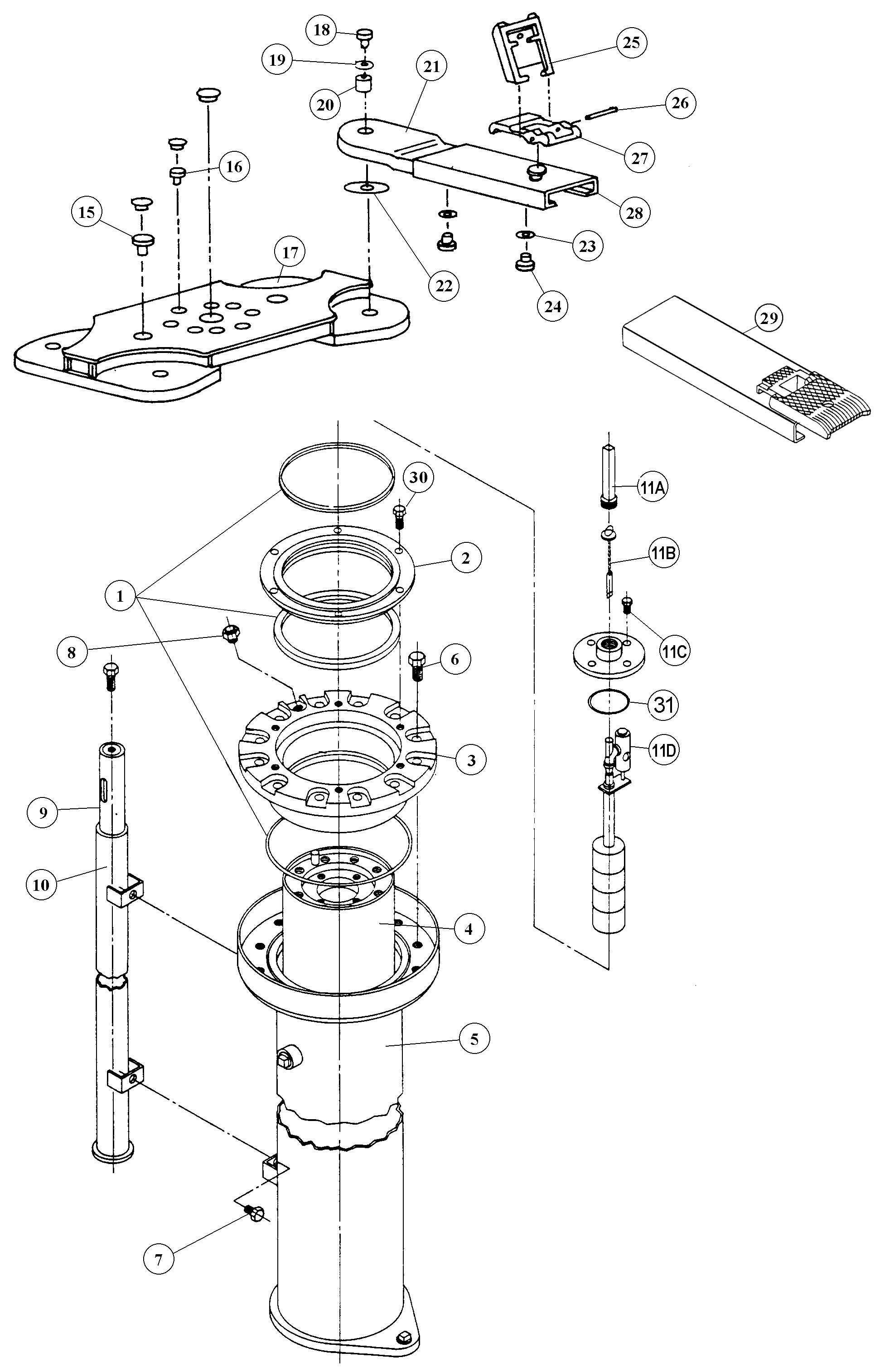 Air Brake Diagram Parts for Manitowoc Lifts A 1aa3a Of Air Brake Diagram