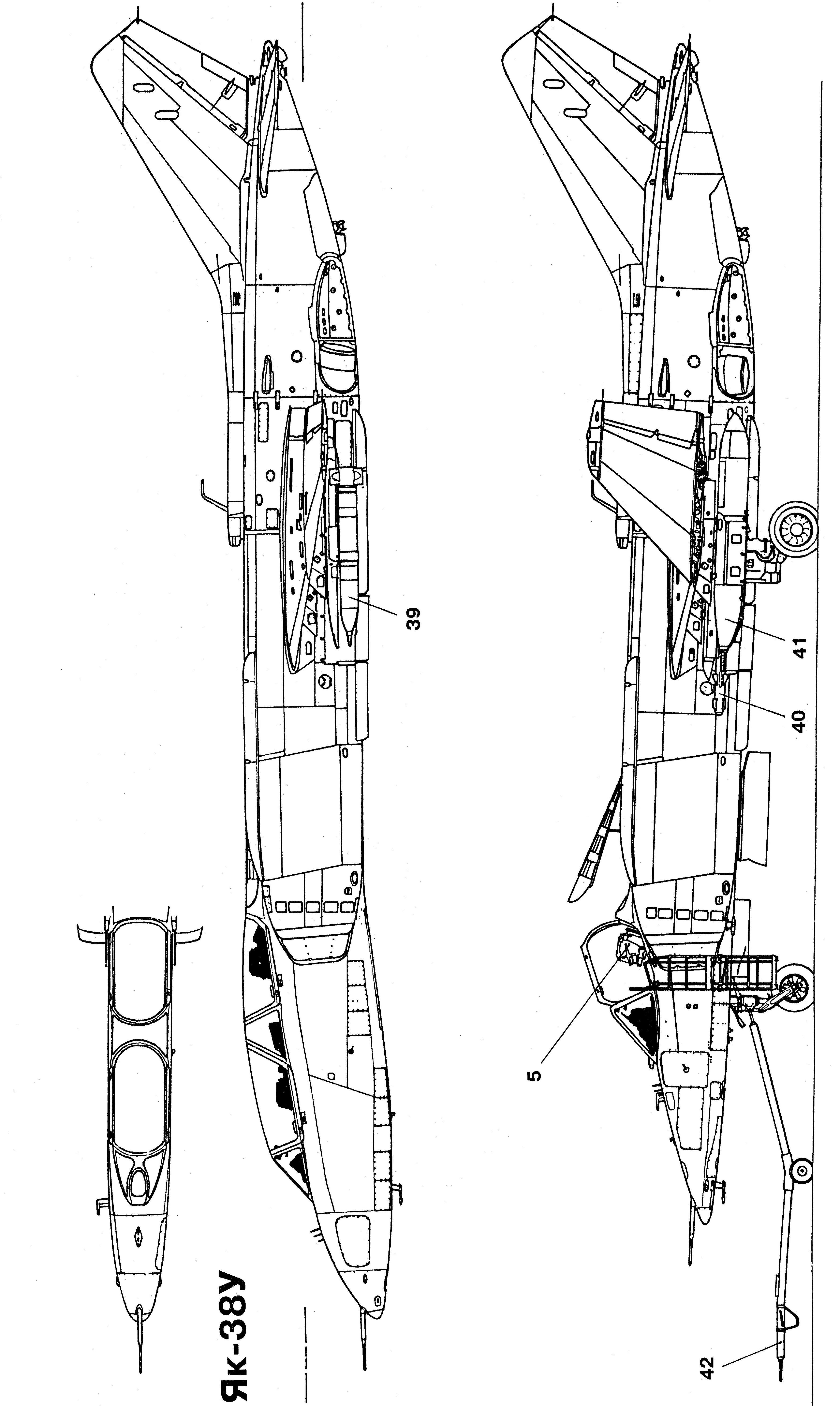 Airplane Engine Diagram Yakovlev Yak 38 Blueprint Download Free Blueprint for 3d Of Airplane Engine Diagram
