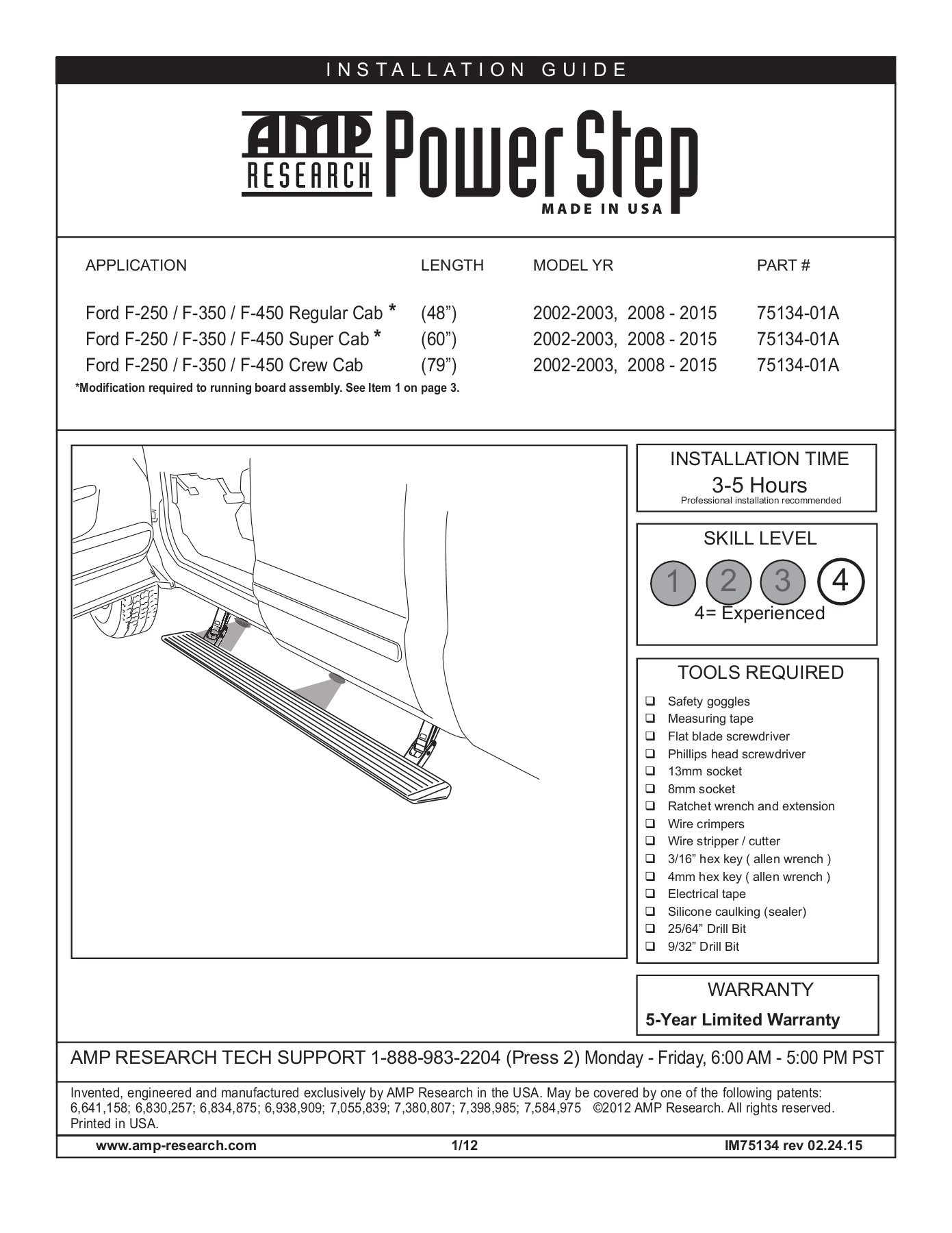 Amp Research Power Step Wiring Diagram Skill Level 1 2 3 4 Amp Research Pages 1 13 Text Of Amp Research Power Step Wiring Diagram