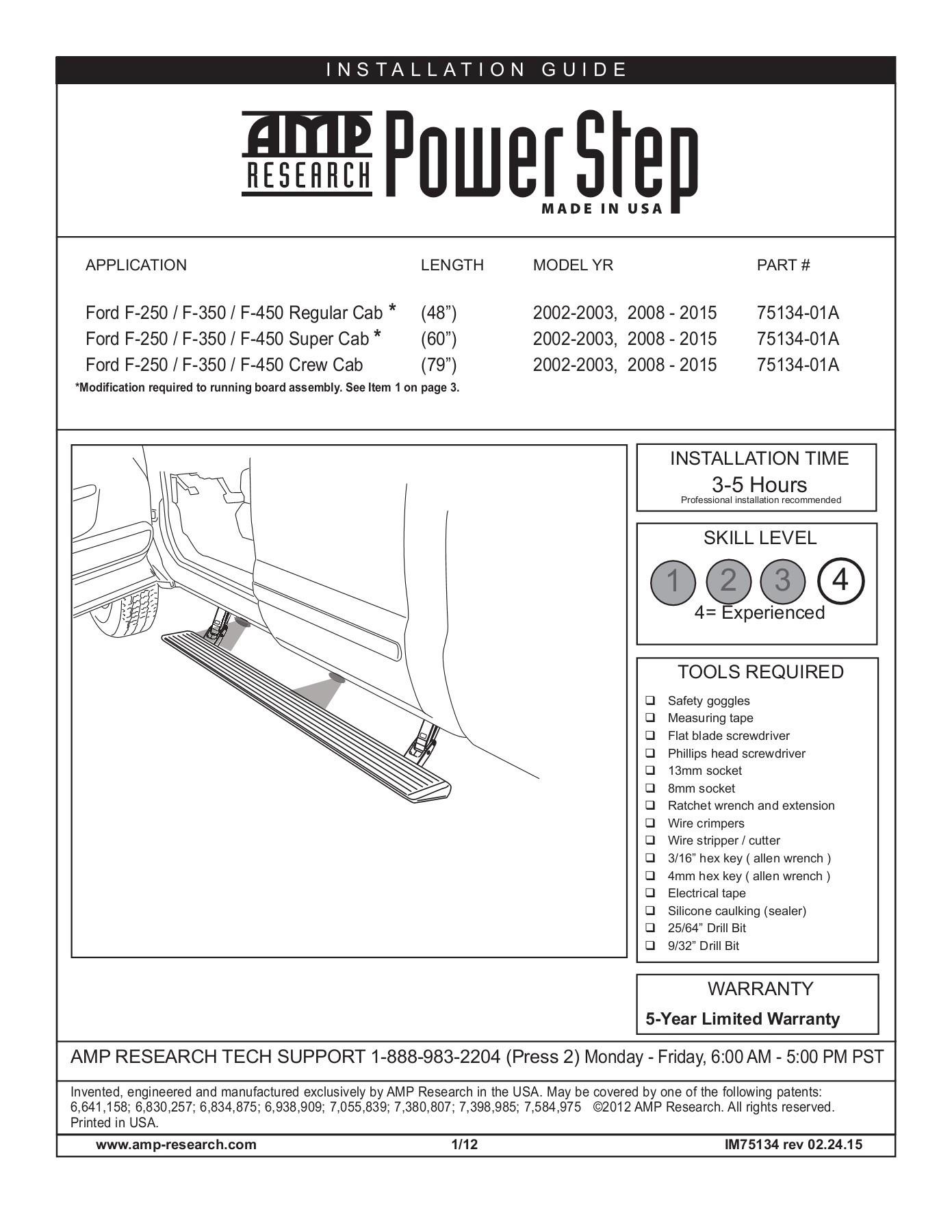 Amp Research Power Step Wiring Diagram Skill Level 1 2 3 4 Amp Research Pages 1 13 Text Of Amp Research Power Step Wiring Diagram F099f Range Rover Denso Radio Wiring Schematics 2007