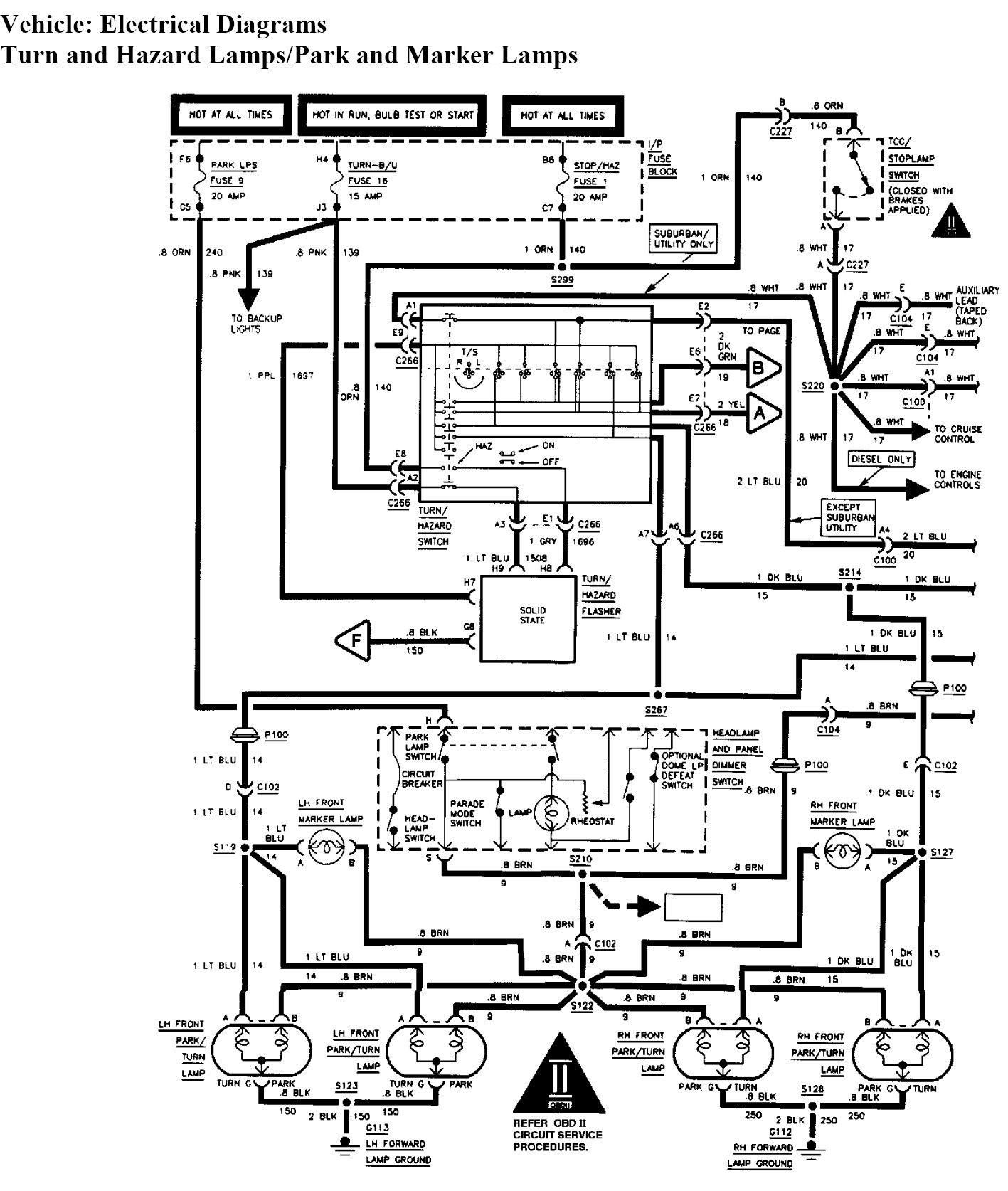 Brake Light Wiring Diagram 1994 Gmc Sierra Chevy Trailblazer Tail Light Diagram Wiring Diagram Rows Of Brake Light Wiring Diagram 1994 Gmc Sierra