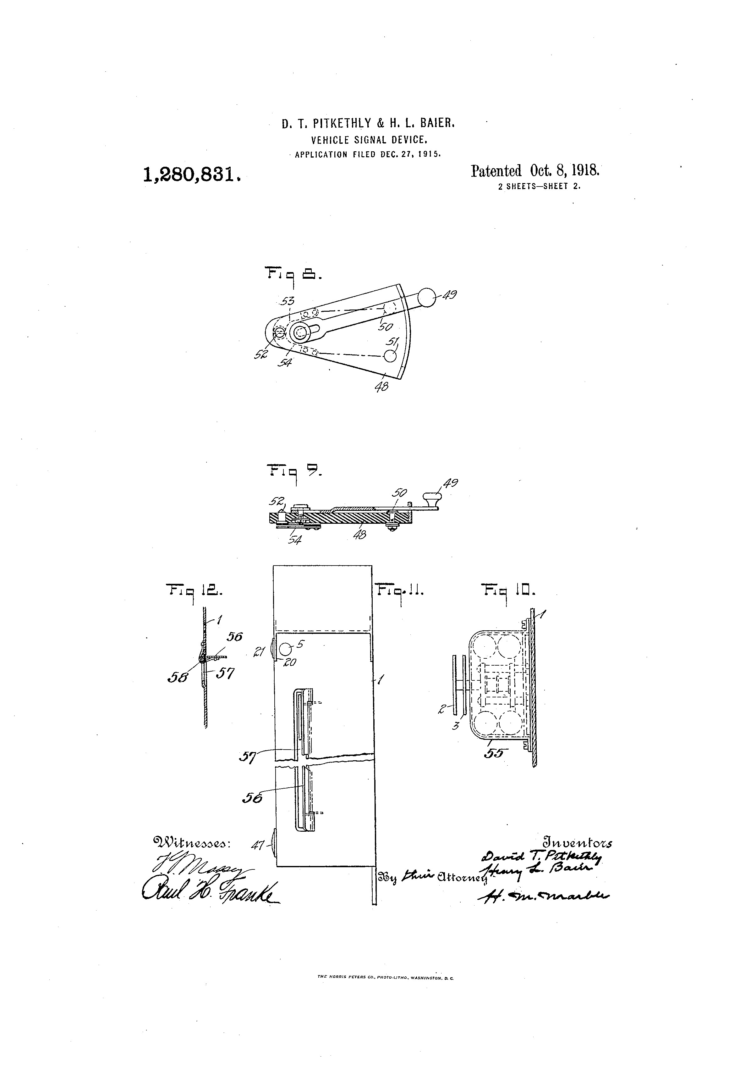 Car Frame Diagram Us A Vehicle Signal Device Google Patents Of Car Frame Diagram