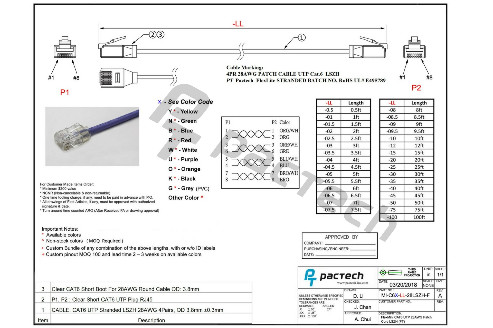 Cat6 Cable Wiring Diagram New Cat6 28awg Cable Flexmini6 6a Utp Bestronics Of Cat6 Cable Wiring Diagram