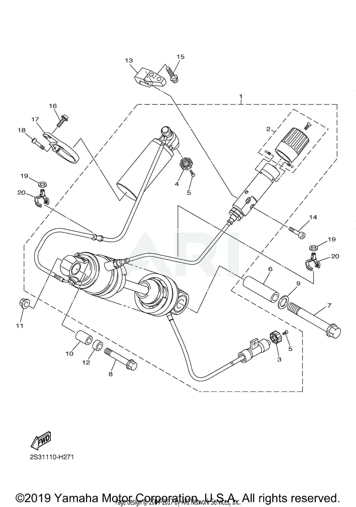 Harley Davidson Motorcycle Parts Diagram 2018 Yamaha V Max Vmx17jcgy Rear Suspension Parts Best Of Harley Davidson Motorcycle Parts Diagram
