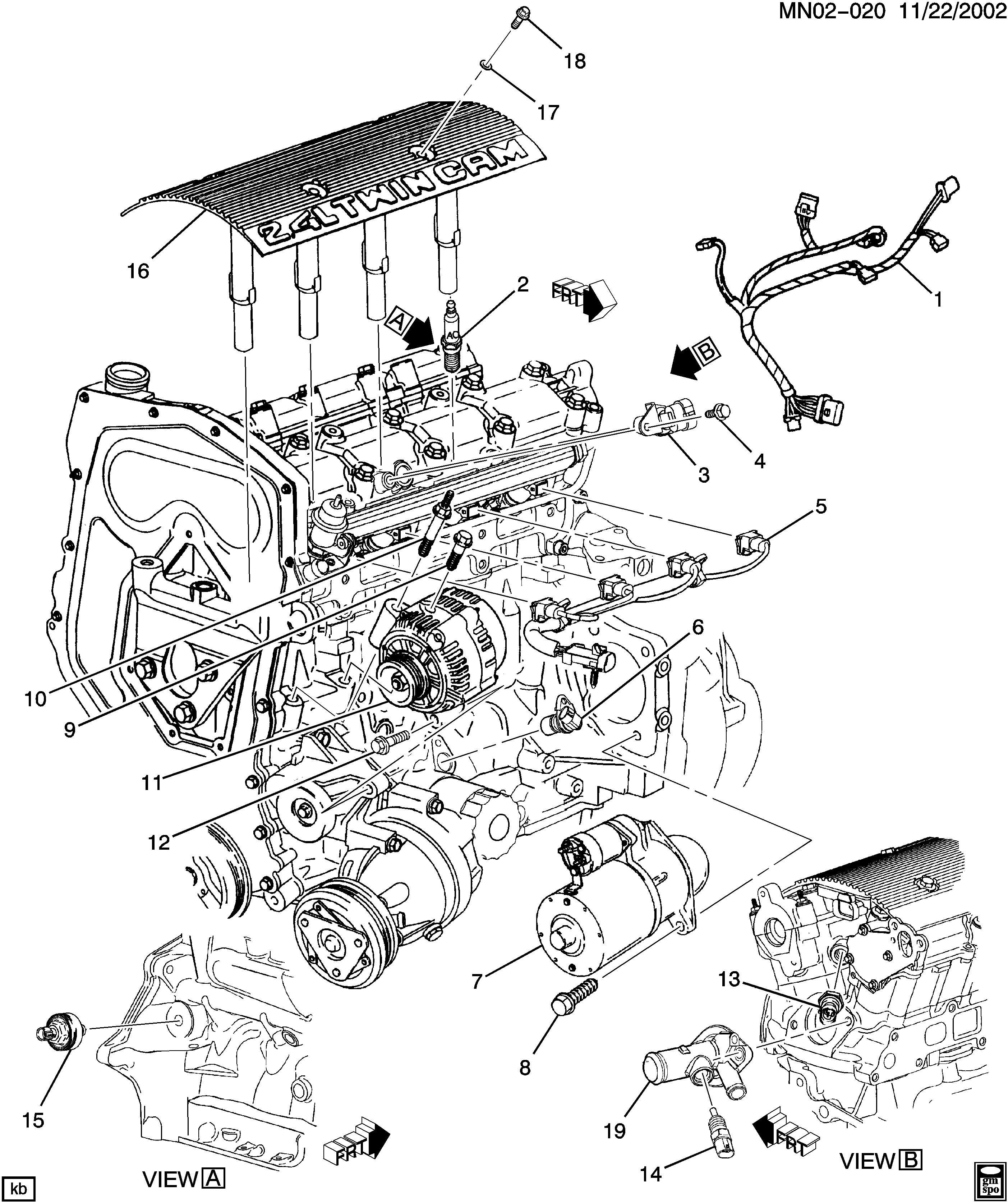 Pontiac Grand Am Engine Diagram Pontiac Grand Am N Engine Electrical Ld9 2 4t Epc Of Pontiac Grand Am Engine Diagram
