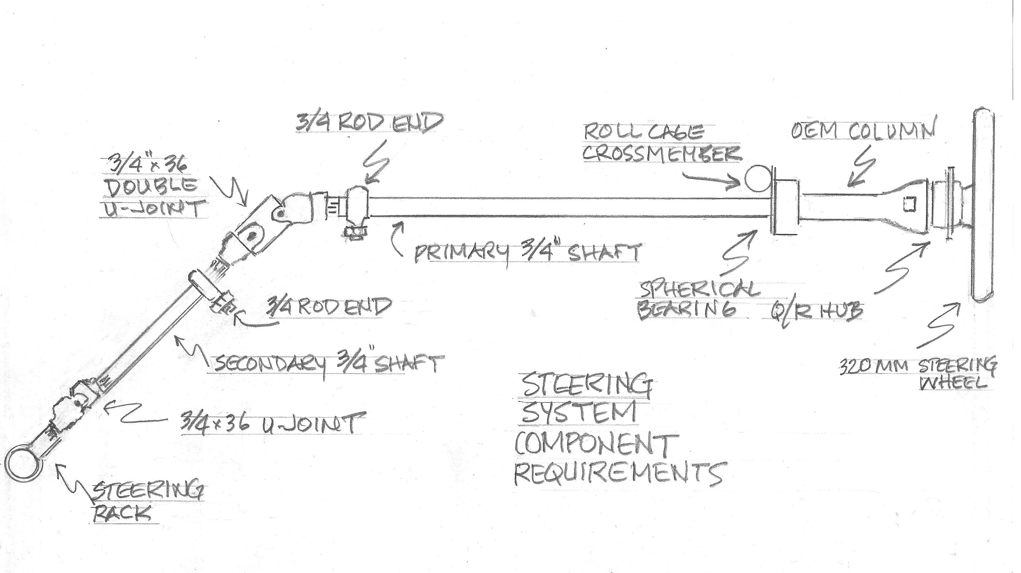 Power Steering System Diagram Configuring An Effective High Performance Steering System