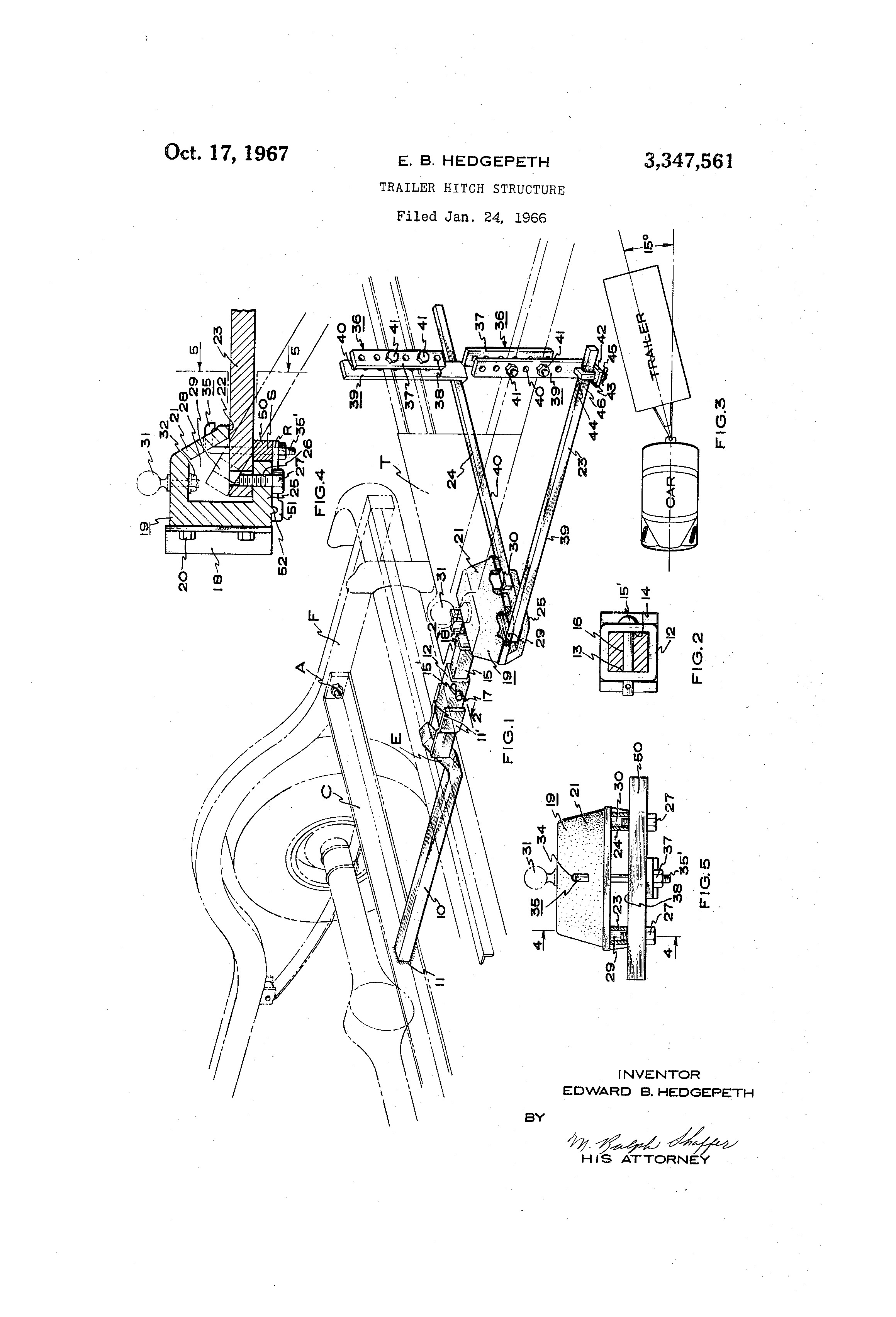 Sway Bar Diagram Patent Us Trailer Hitch Structure Google Patents Of Sway Bar Diagram
