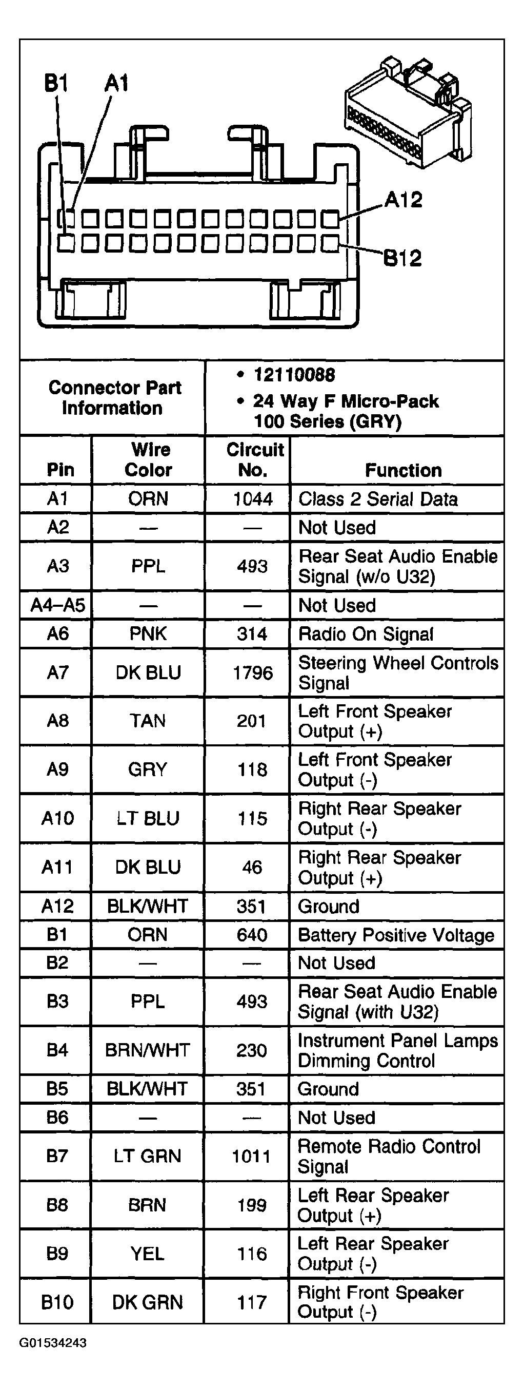 05 Trailblazer Radio Wire Diagrams 2005 Trailblazer Stereo Wiring Diagram Of 05 Trailblazer Radio Wire Diagrams