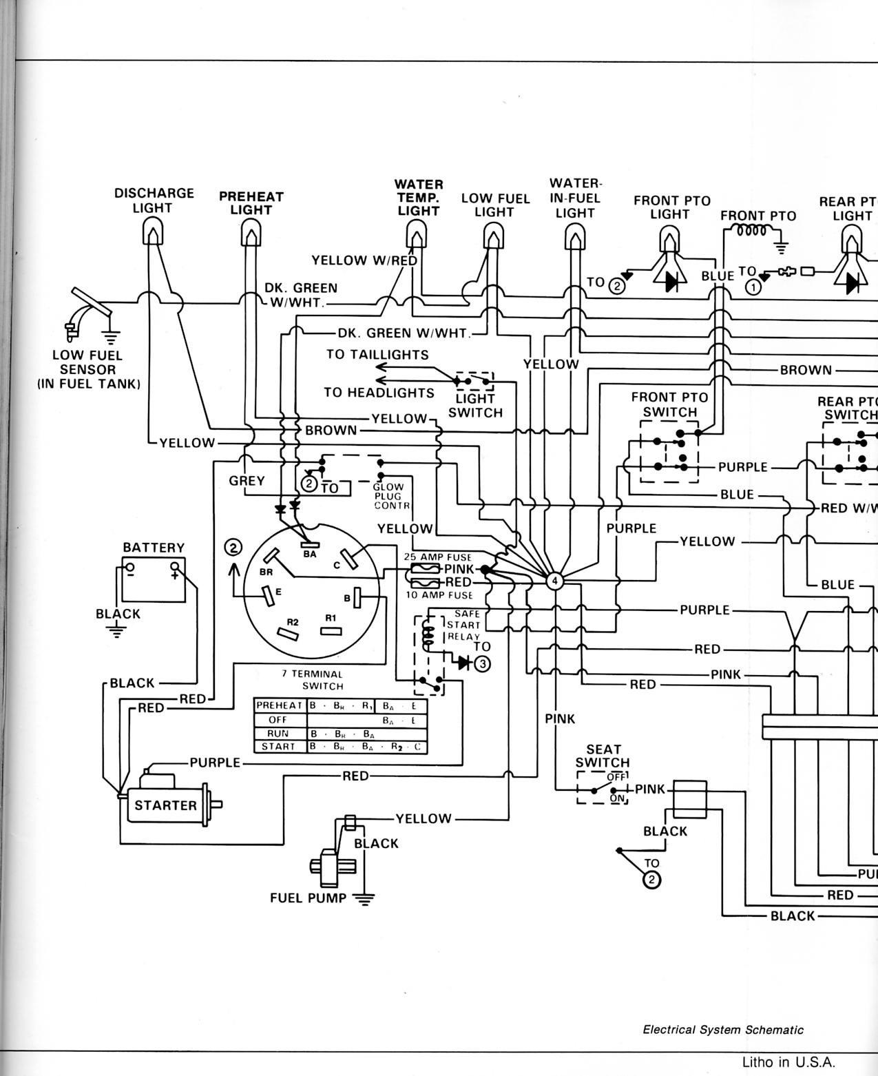 1978 John Deere Gator Electrical Diagram 77e2b9 Wiring Diagram for John Deere 750 Of 1978 John Deere Gator Electrical Diagram