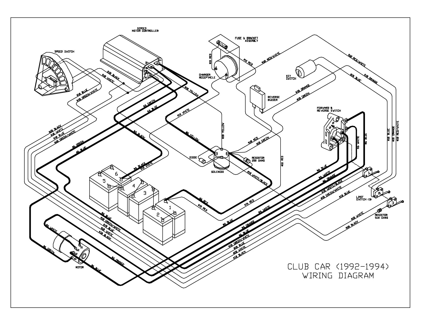 1986 Club Car Wiring Diagram 2b775 Club Car Electric Wiring Diagram Of 1986 Club Car Wiring Diagram