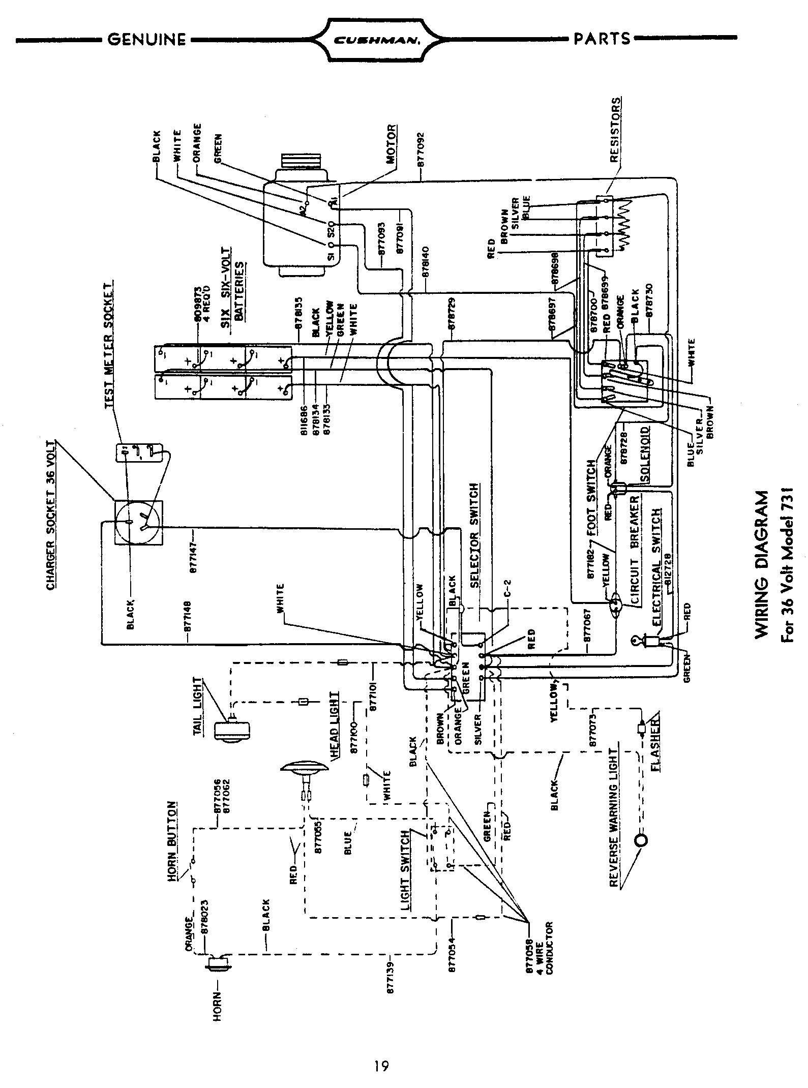 1988 Electric Club Car Schematic Ds 6087] 36 Volt Club Car Wiring Diagram Schematic Of 1988 Electric Club Car Schematic