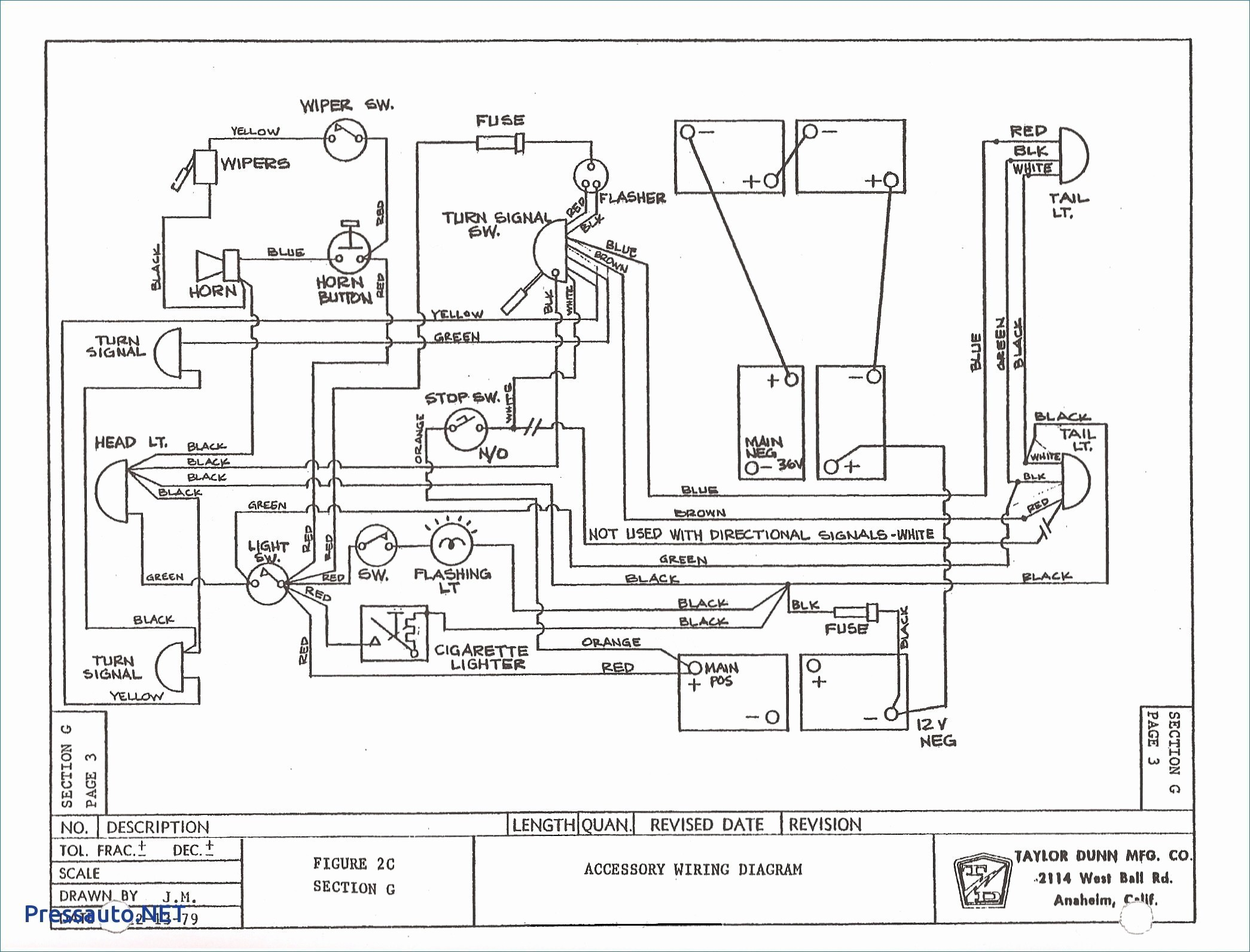 1992 Ez-go Wiring Diagram 591 Ez Go Golf Cart Parts Diagram