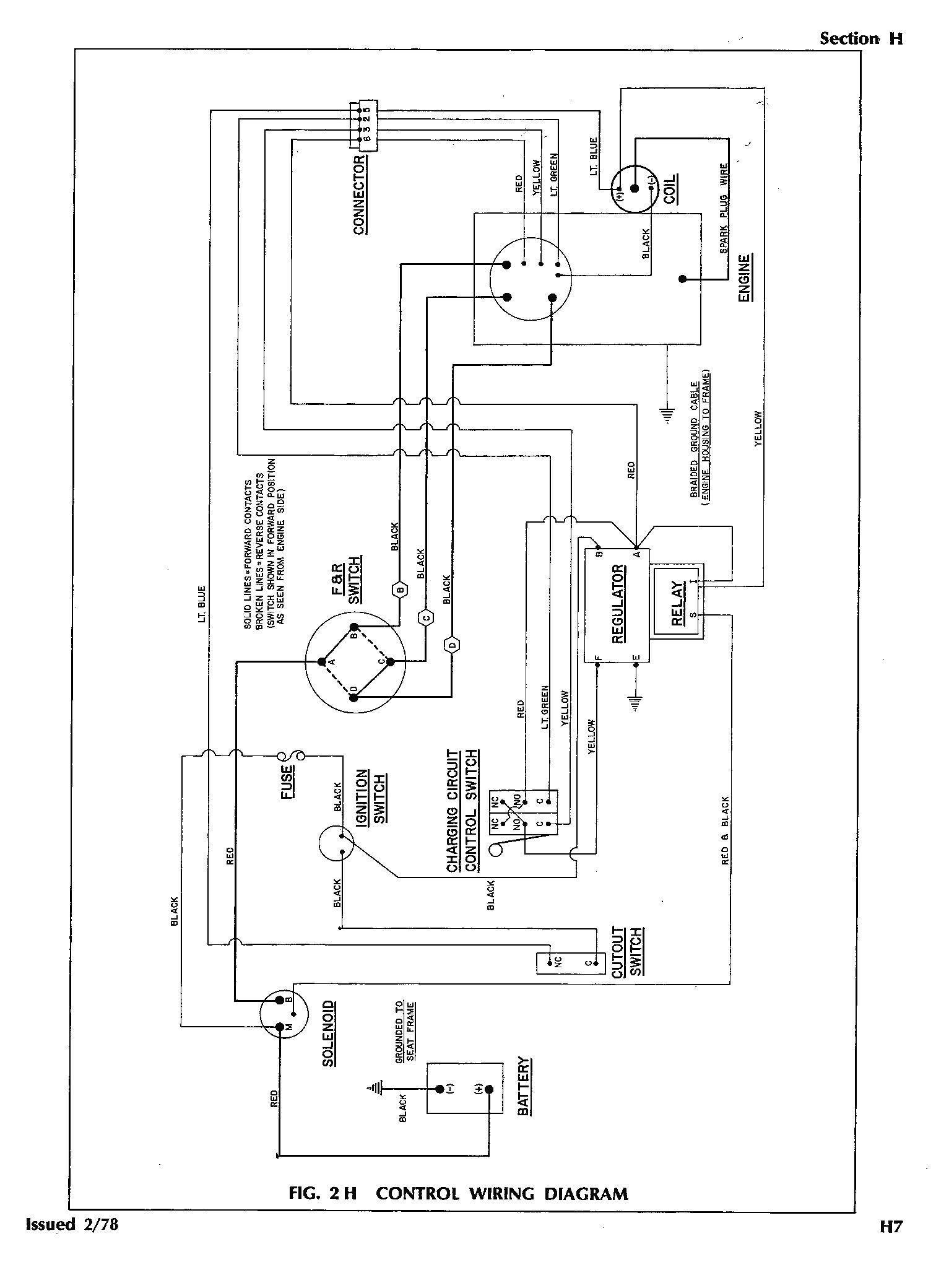 1998 Club Car Wiring Diagram 48 Volt Wiring Diagram Data