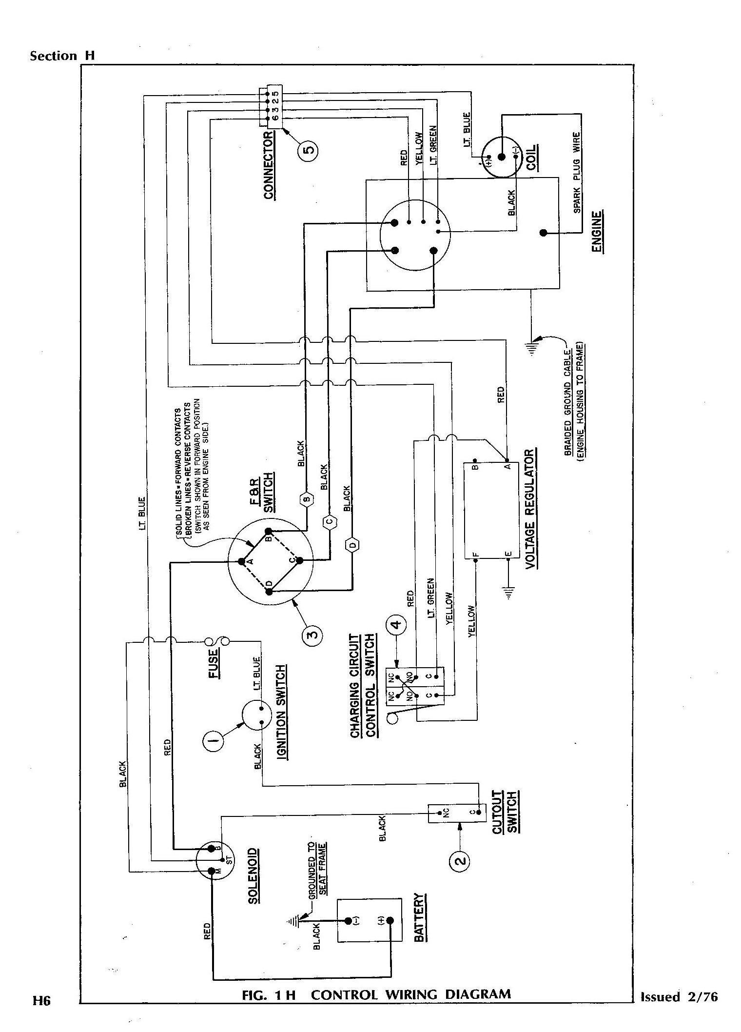 1996 Gas Ezgo Wire Diagram 2006 Ezgo Txt Gas Wiring Diagram Directional Lights Wiring Of 1996 Gas Ezgo Wire Diagram