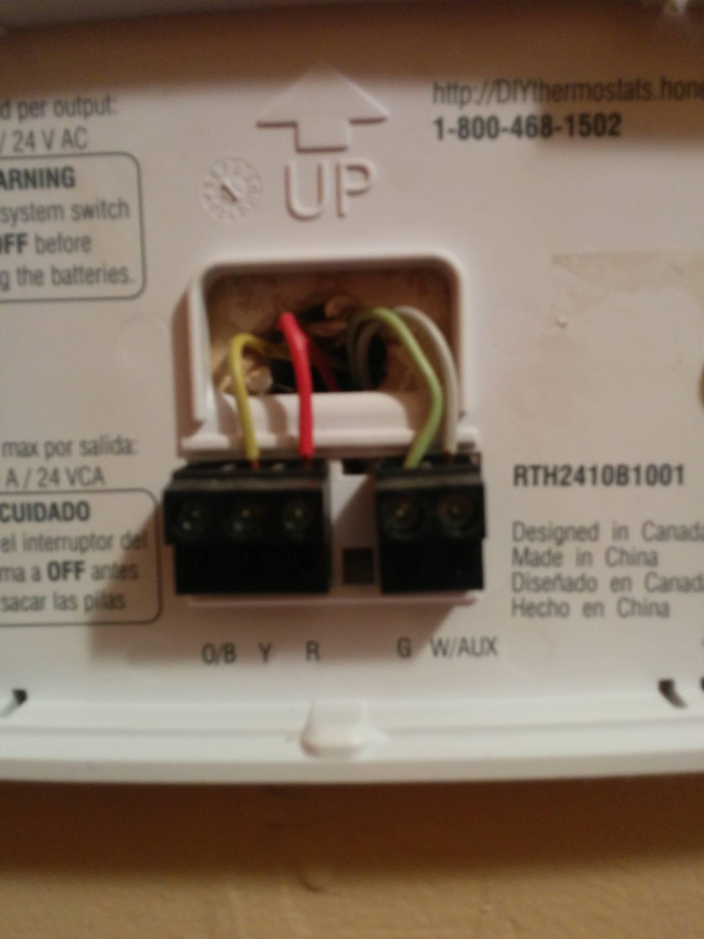 2 Wire Honeywell thermostat Installation Ecobee3 Installation thermostat Y Terminal Yellow Wire Of 2 Wire Honeywell thermostat Installation