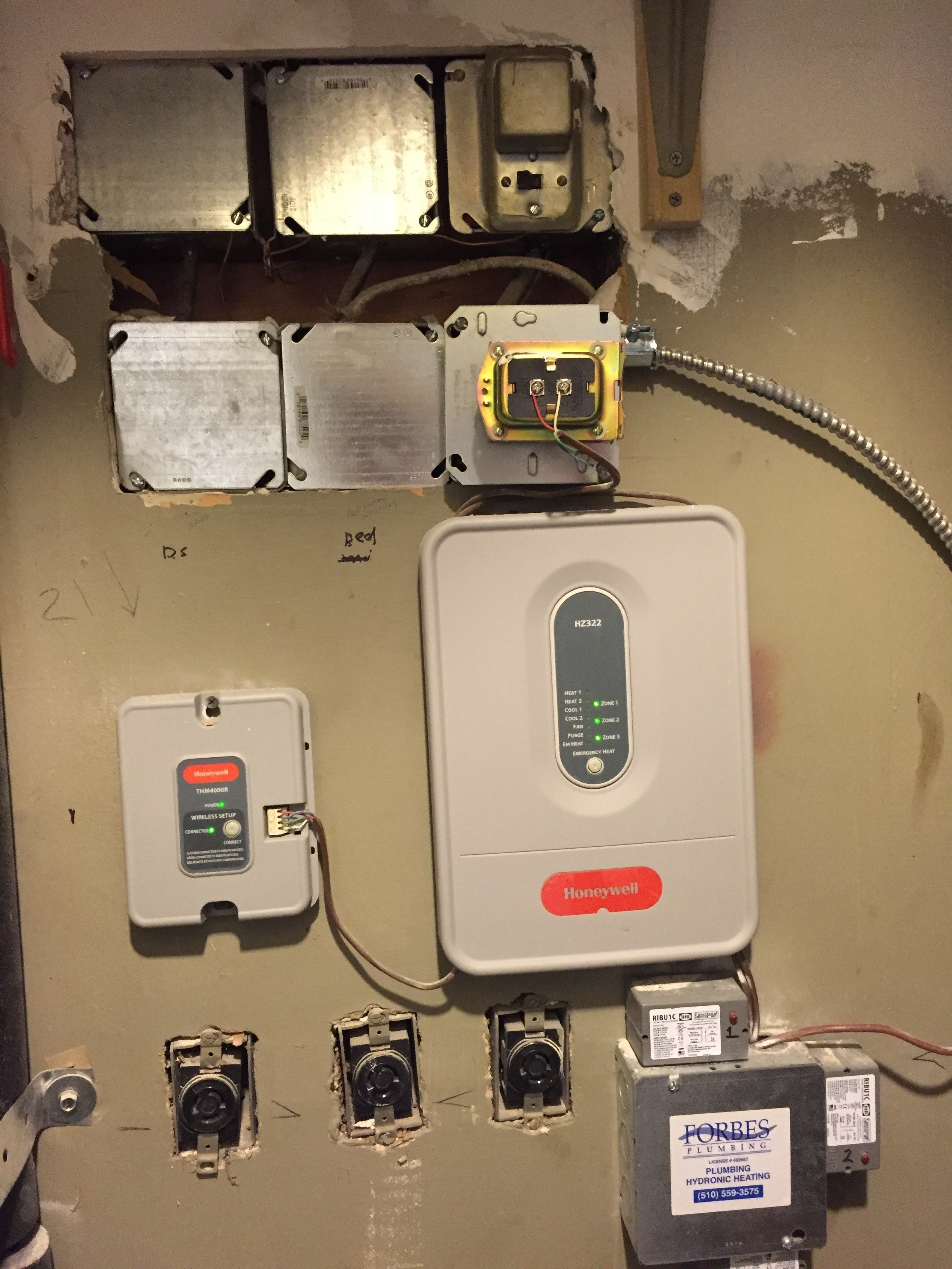 2 Wire Honeywell thermostat Installation Wireless Tstats Honeywell Redlink Experience — Heating Of 2 Wire Honeywell thermostat Installation
