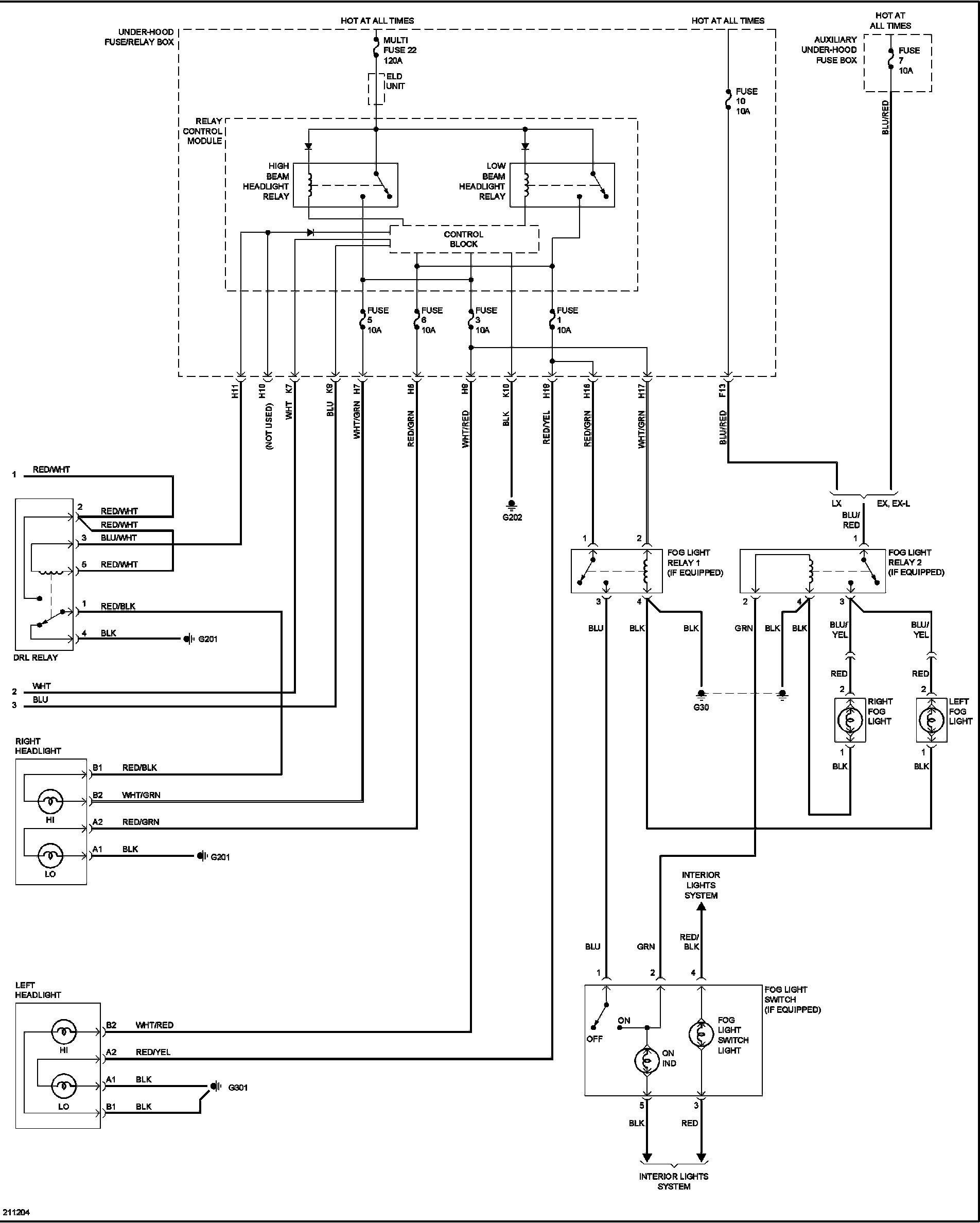 2002 Honda Civic Wiring Schematics Pool Light Wiring Diagram Of 2002 Honda Civic Wiring Schematics