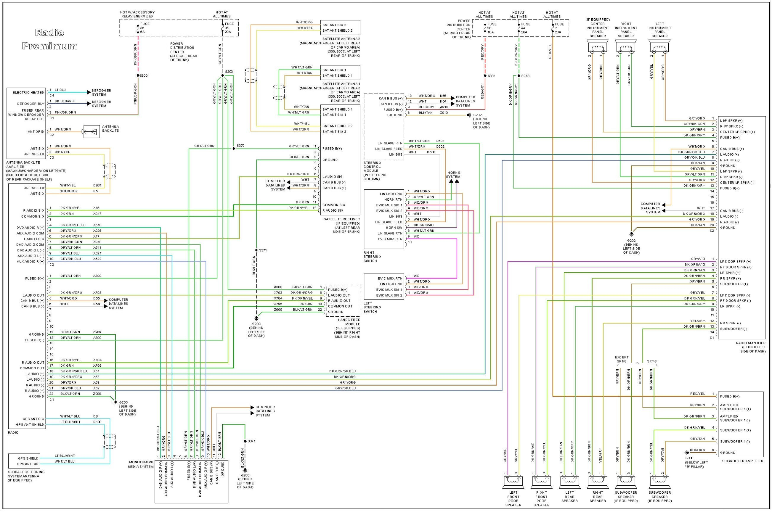 2005 town and Country Starer Wireing Diagram Chrysler Wiring Harness Of 2005 town and Country Starer Wireing Diagram