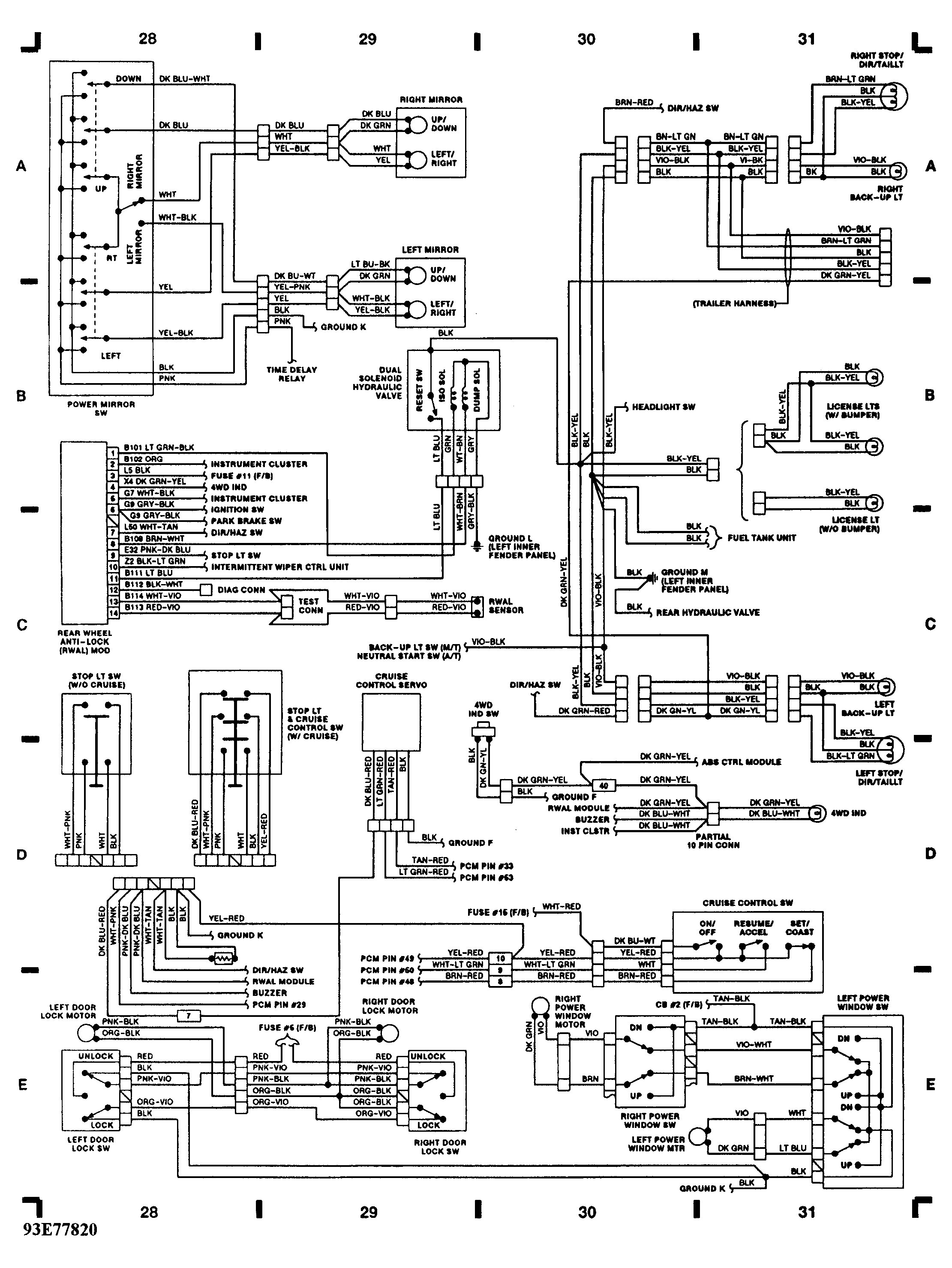2016 Ram 1500 Parking Lamp Circut Diagram Tail and Parking Lights Not Working 1st Head Light Switch Of 2016 Ram 1500 Parking Lamp Circut Diagram