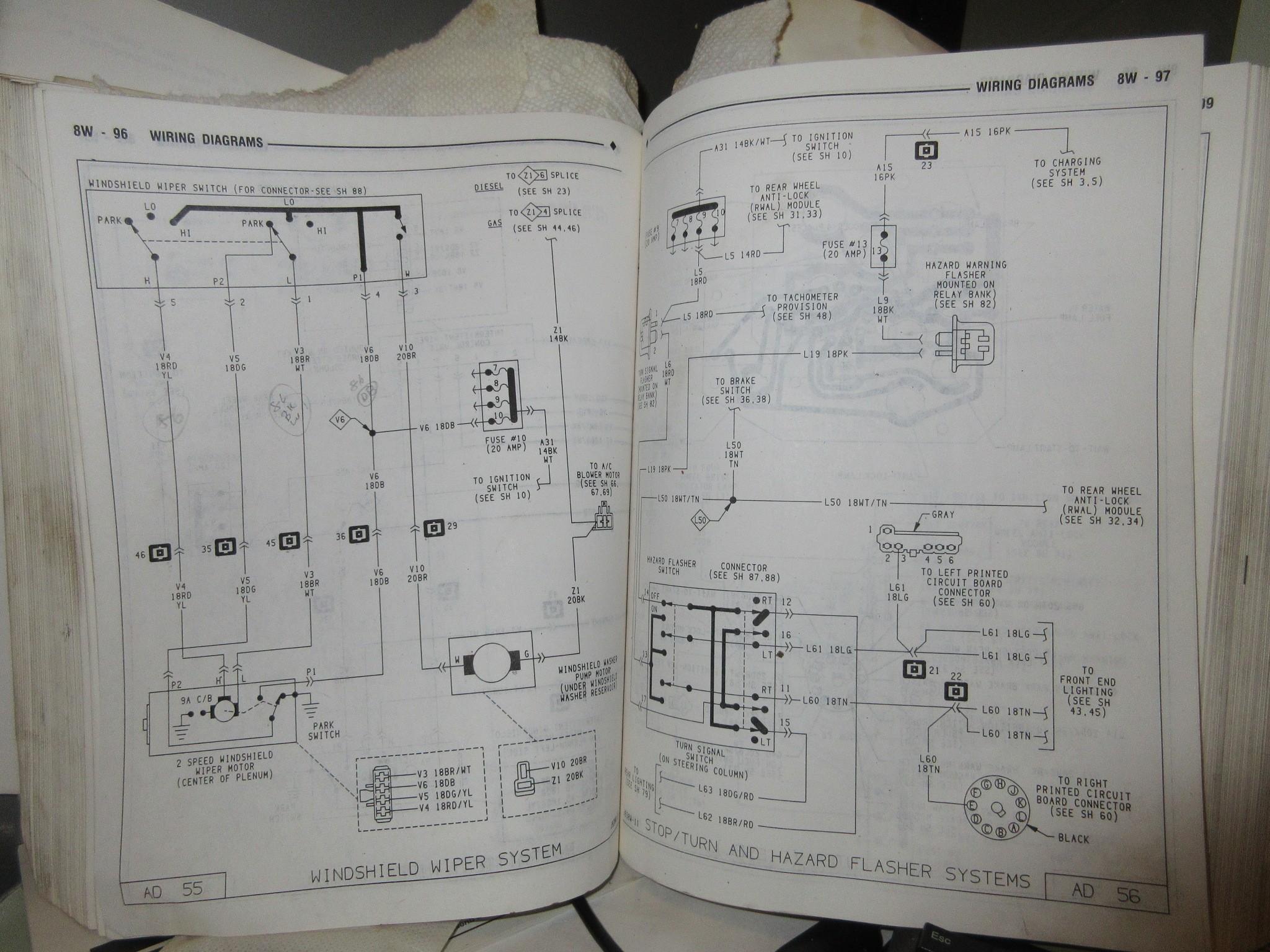 2016 Ram Wiring Diagram Steering Column Wiring Diagrams Dodge Ram Ramcharger Of 2016 Ram Wiring Diagram