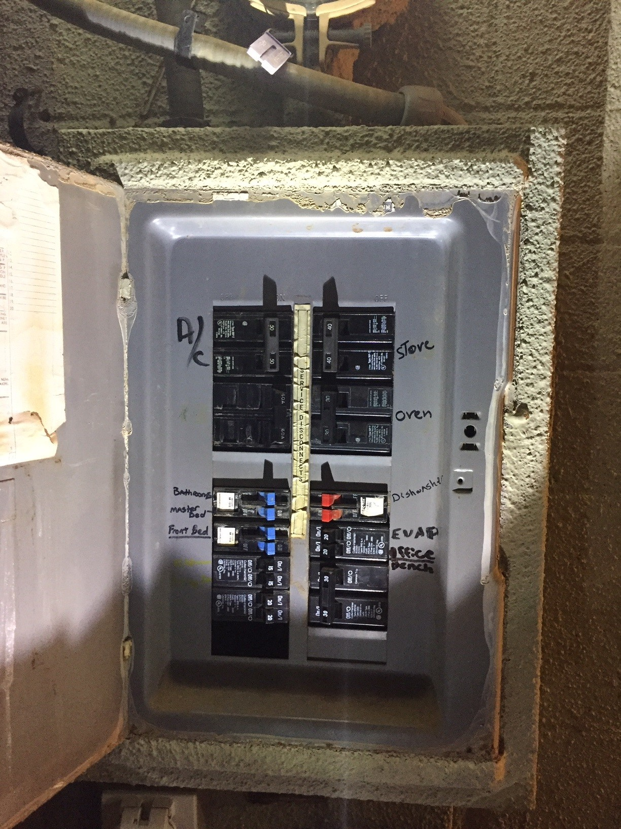 30 Amp Sub Panel Wiring Diagram Can I Add A Subpanel Home Improvement Stack Exchange Of 30 Amp Sub Panel Wiring Diagram