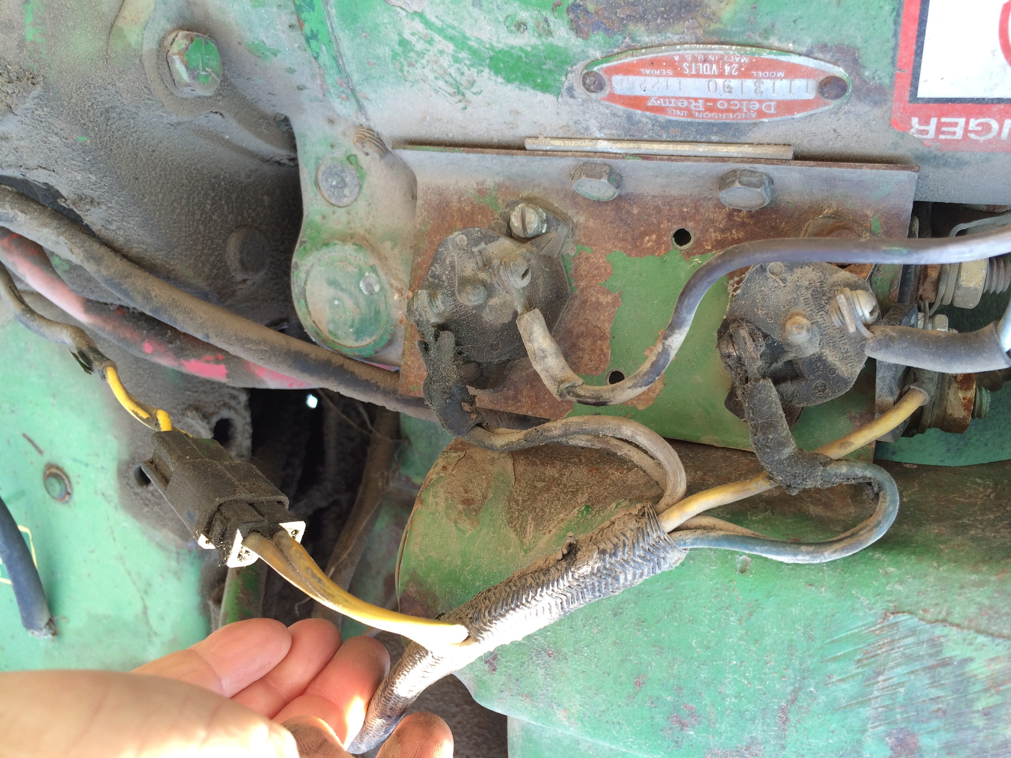4020 John Deere Silinoid to Stater Wireing 12voalt Photos 4020 Starter Problem 24volt Of 4020 John Deere Silinoid to Stater Wireing 12voalt Photos