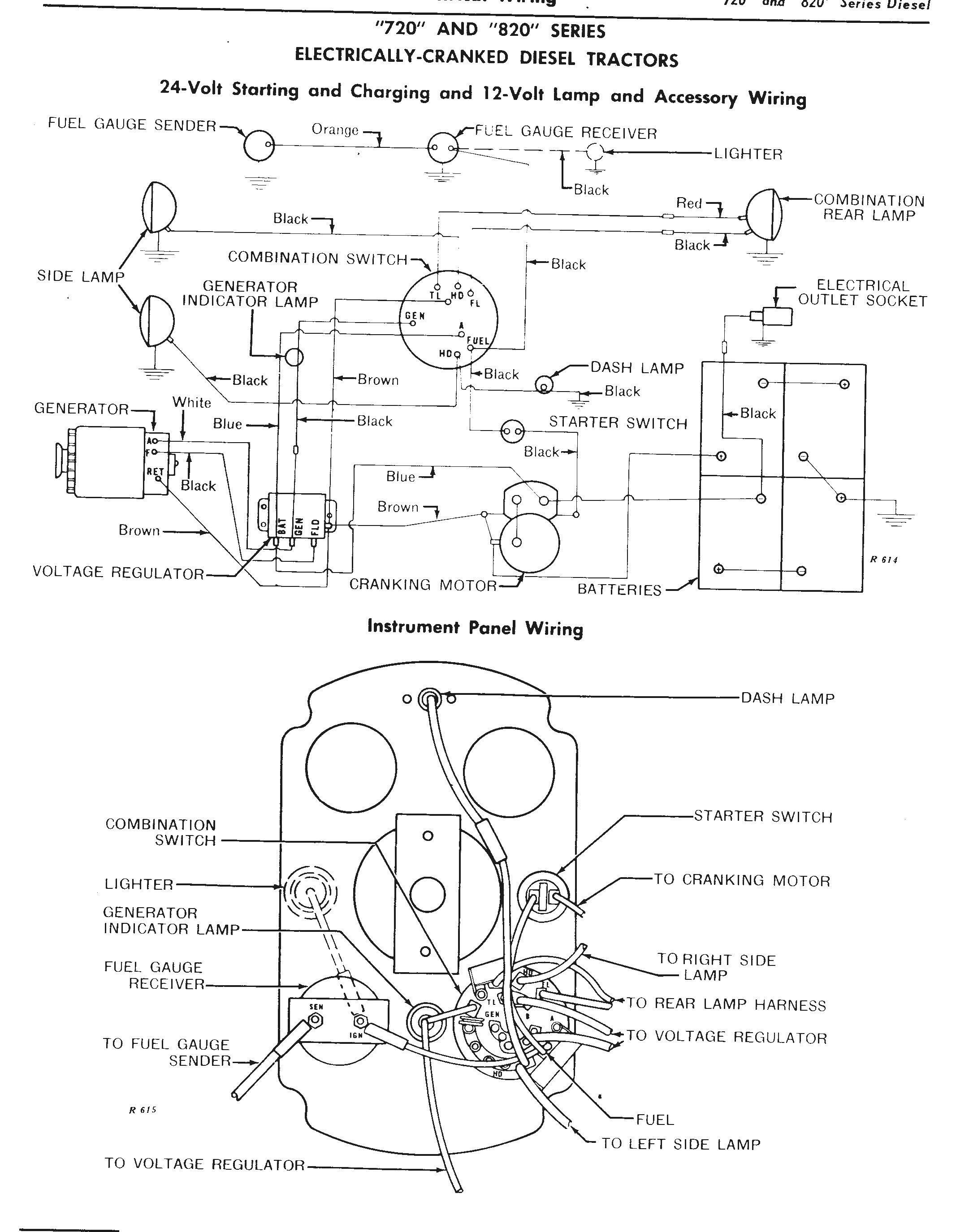 4020 John Deere Silinoid to Stater Wireing 12voalt Photos the John Deere 24 Volt Electrical System Explained Of 4020 John Deere Silinoid to Stater Wireing 12voalt Photos