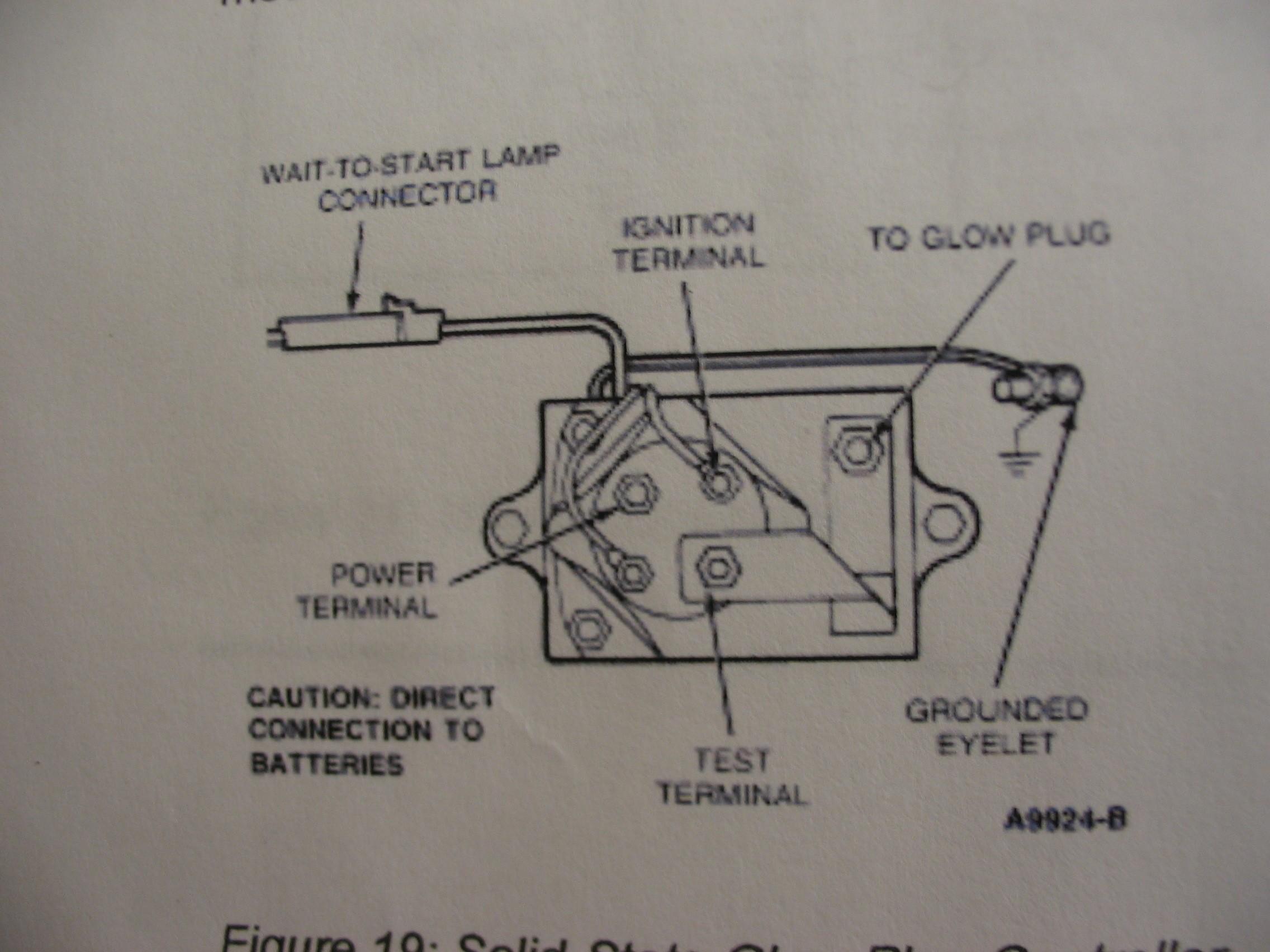 7.3 Glow Plug Controller Diagram Hy 2699] Glow Plug Relay Wiring Schematic Of 7.3 Glow Plug Controller Diagram