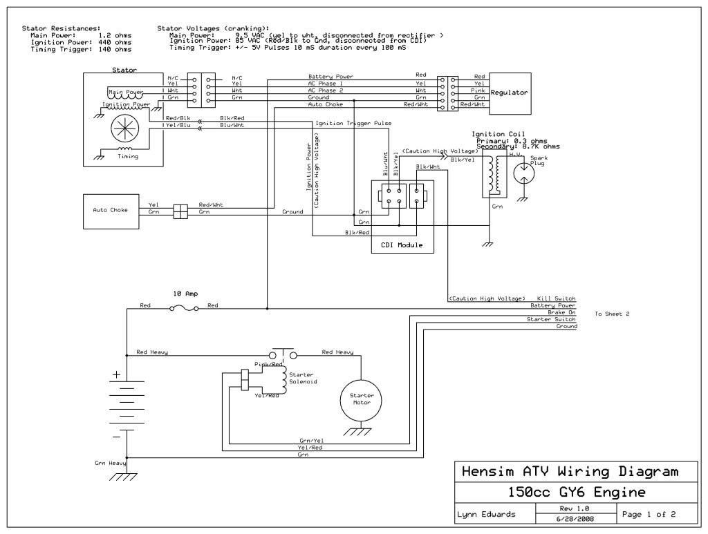 72cc Chinese atv/quad Wiring Schematic/diagram 150cc Chinese atv with No Spark atvconnection atv Enthusiast Munity Of 72cc Chinese atv/quad Wiring Schematic/diagram