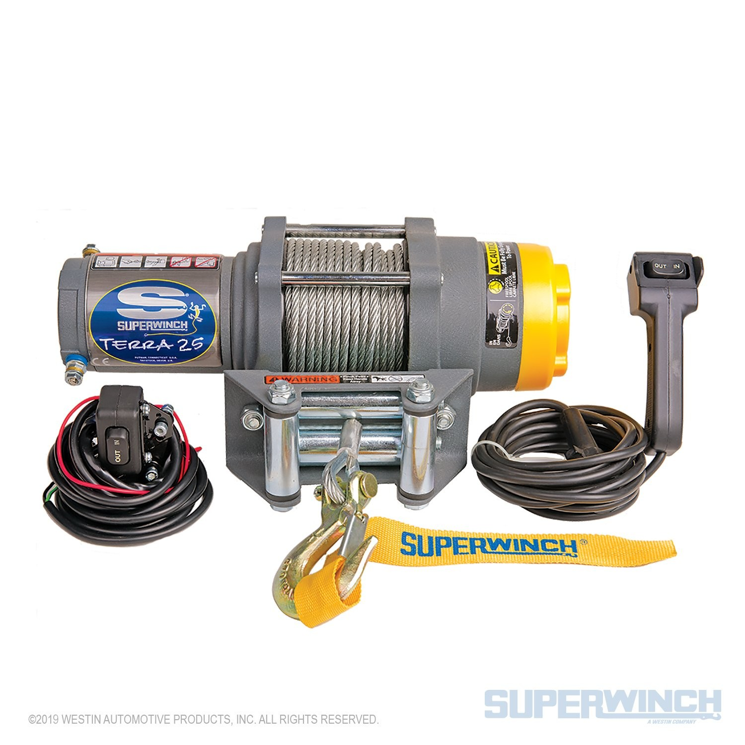 Atv Superwinch solenoid Diagram Superwinch Terra 25 12v atv Utv Winch Steel Rope Of Atv Superwinch solenoid Diagram