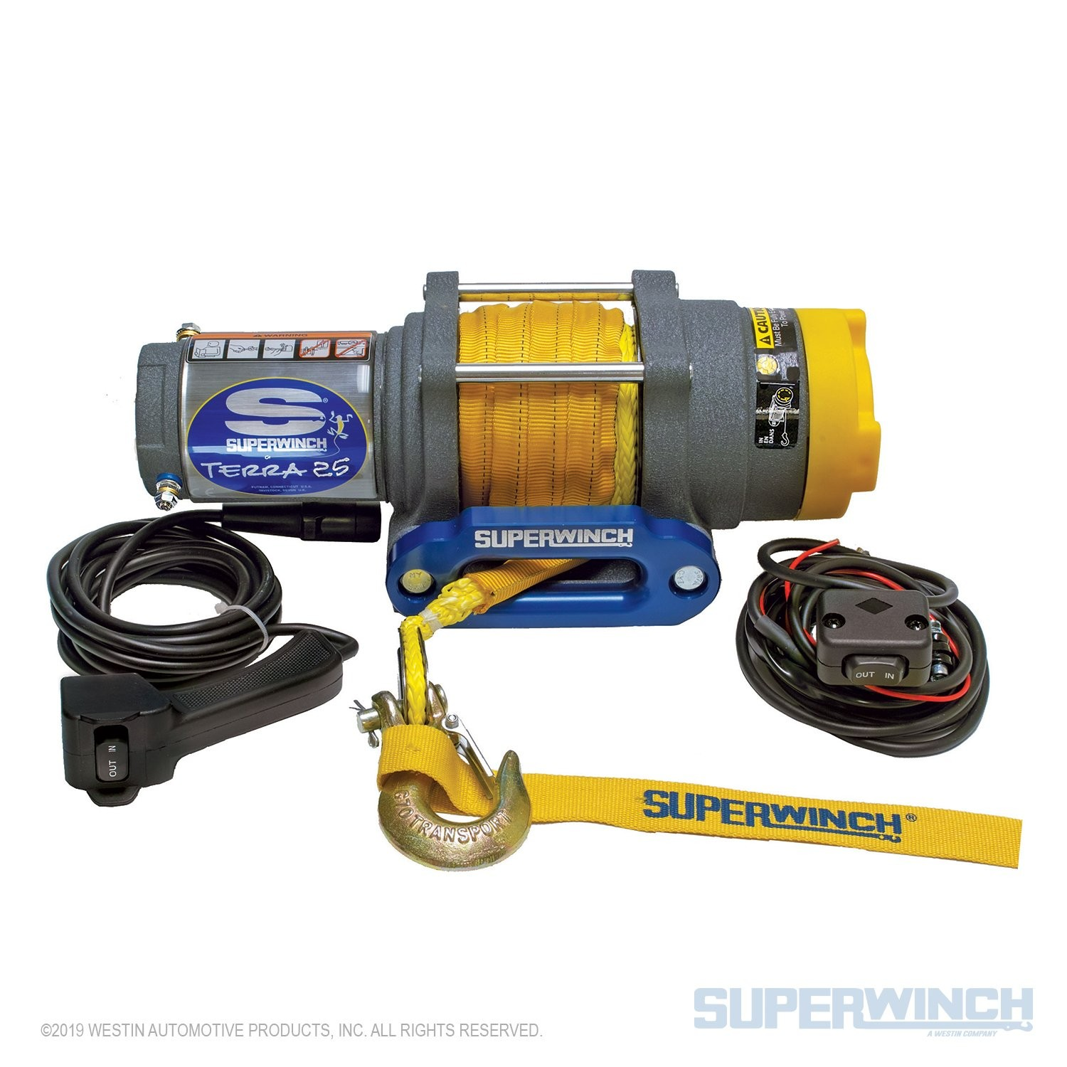 Atv Superwinch solenoid Diagram Superwinch Terra 25sr 12v atv Utv Winch Synthetic Rope Of Atv Superwinch solenoid Diagram