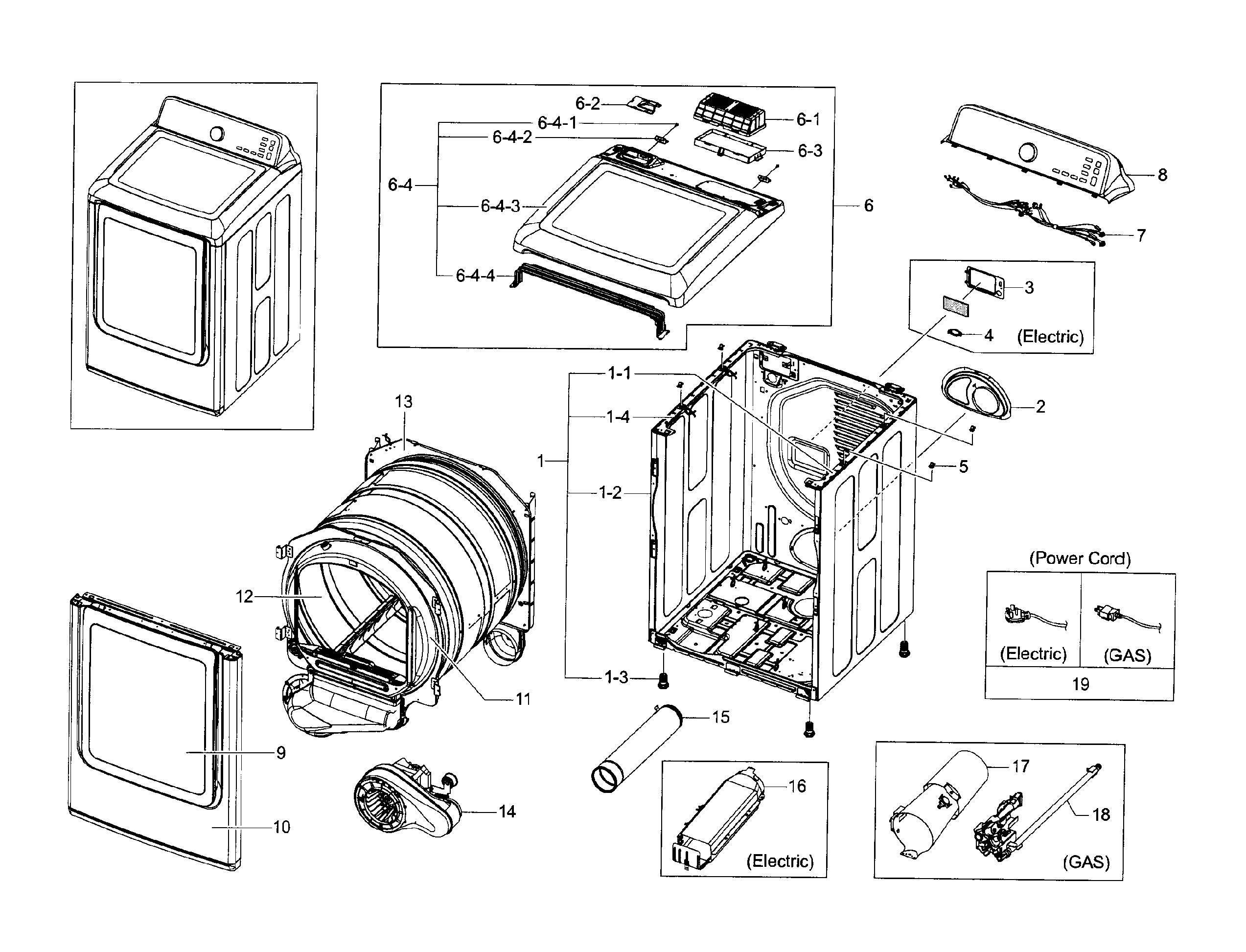 Dv45h7000ew A2 Wiring Diagram Samsung Dv45h7000ew A2 00 Dryer Parts Of Dv45h7000ew A2 Wiring Diagram