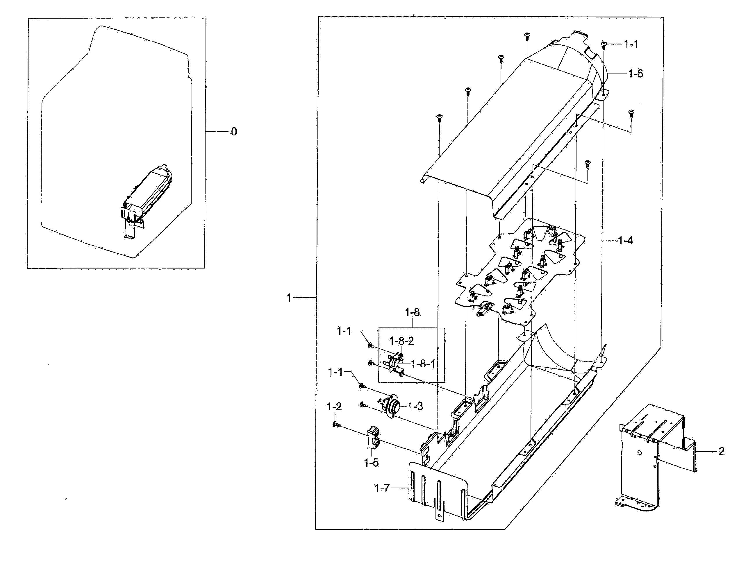 Dv45h7000ew A2 Wiring Diagram Samsung Dv48h7400ew A2 00 Dryer Parts Of Dv45h7000ew A2 Wiring Diagram