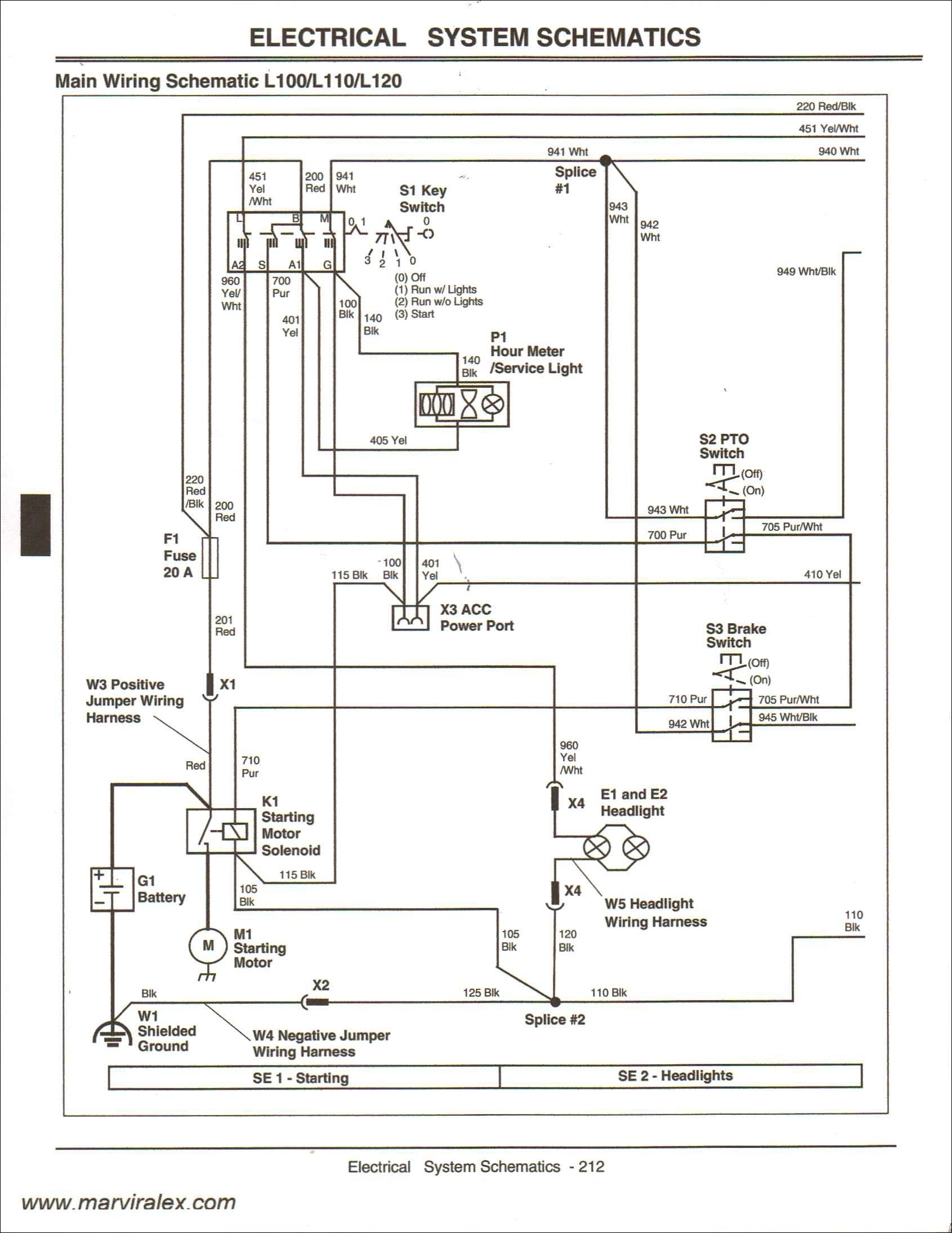 Electrical Schematic 345 John Deere Tractor Kn 1432] John Deere Gator Ignition Wiring Diagram View Of Electrical Schematic 345 John Deere Tractor