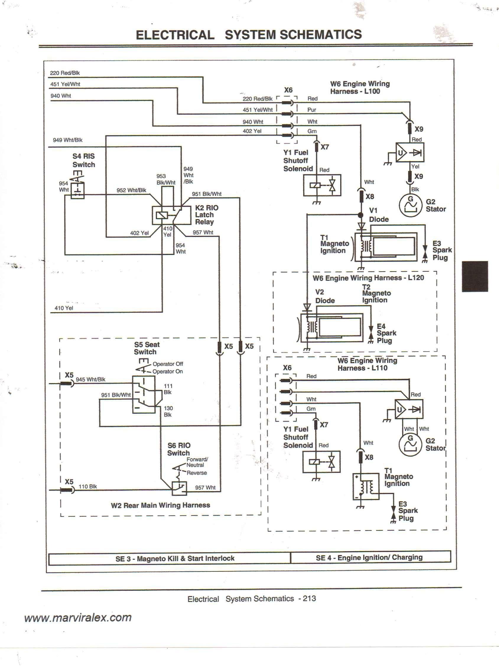 Electrical Schematic 345 John Deere Tractor Nd 2800] Wiring Diagram John Deere F525 Also John Deere F525 Of Electrical Schematic 345 John Deere Tractor