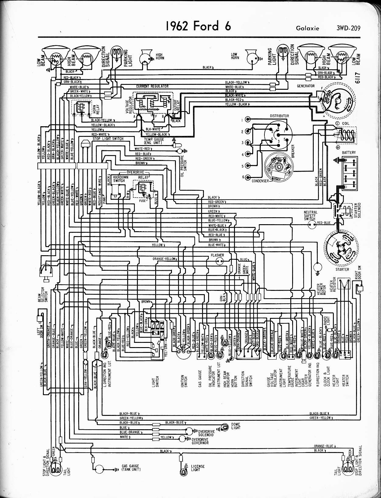 F250 Tail Light Wiring 57 65 ford Wiring Diagrams Of F250 Tail Light Wiring