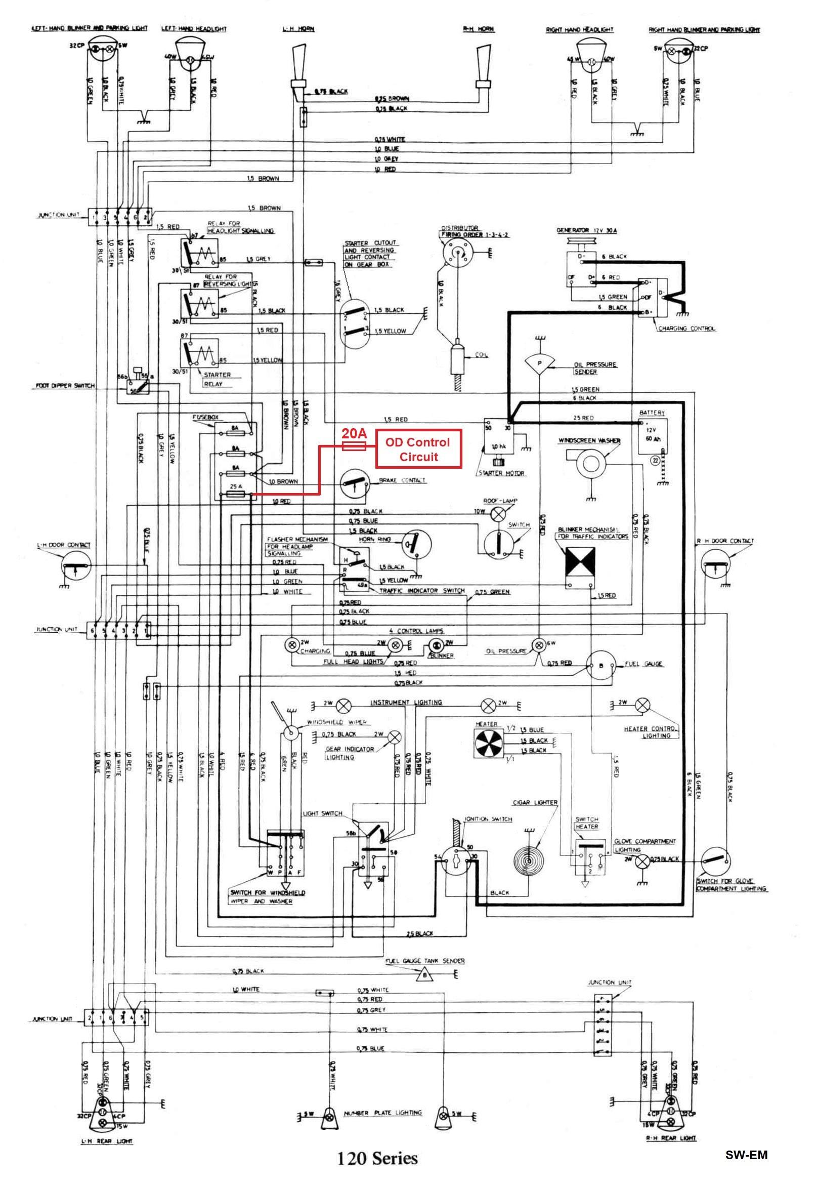 Forward Reverse Switch Wiring Diagram Sw Em Od Retrofitting On A Vintage Volvo Of Forward Reverse Switch Wiring Diagram