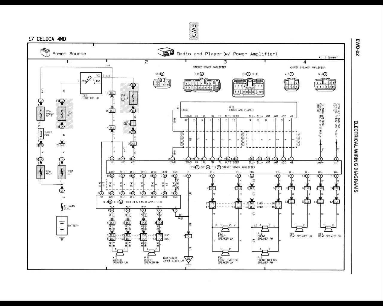 Fujitsu Ten Ftt0068a Diagram Fujitsu Ten Wiring Diagram Unique Of Fujitsu Ten Ftt0068a Diagram