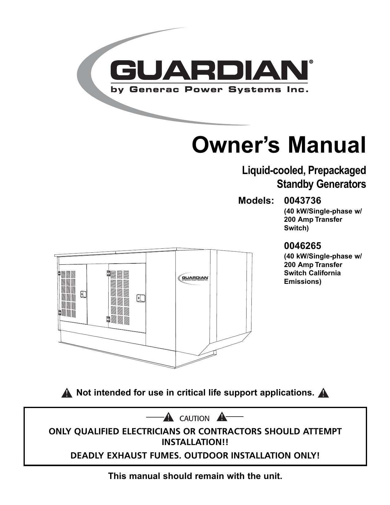 Garmin Striker 4 Installation Wiring Generac Portable Generator User Manual Of Garmin Striker 4 Installation Wiring