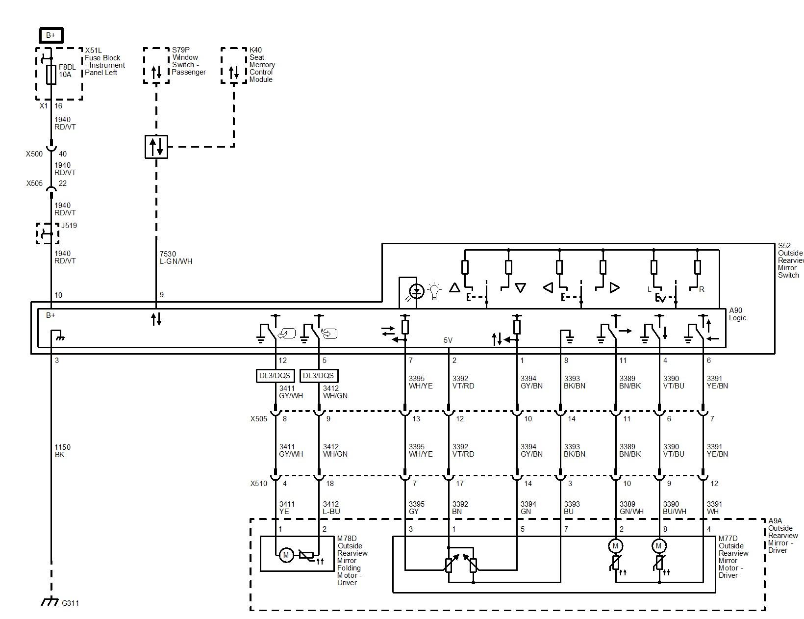 Gentex Mirror Wiring Diagram Hn 0678] Gm Power Mirror Wiring Diagram Of Gentex Mirror Wiring Diagram