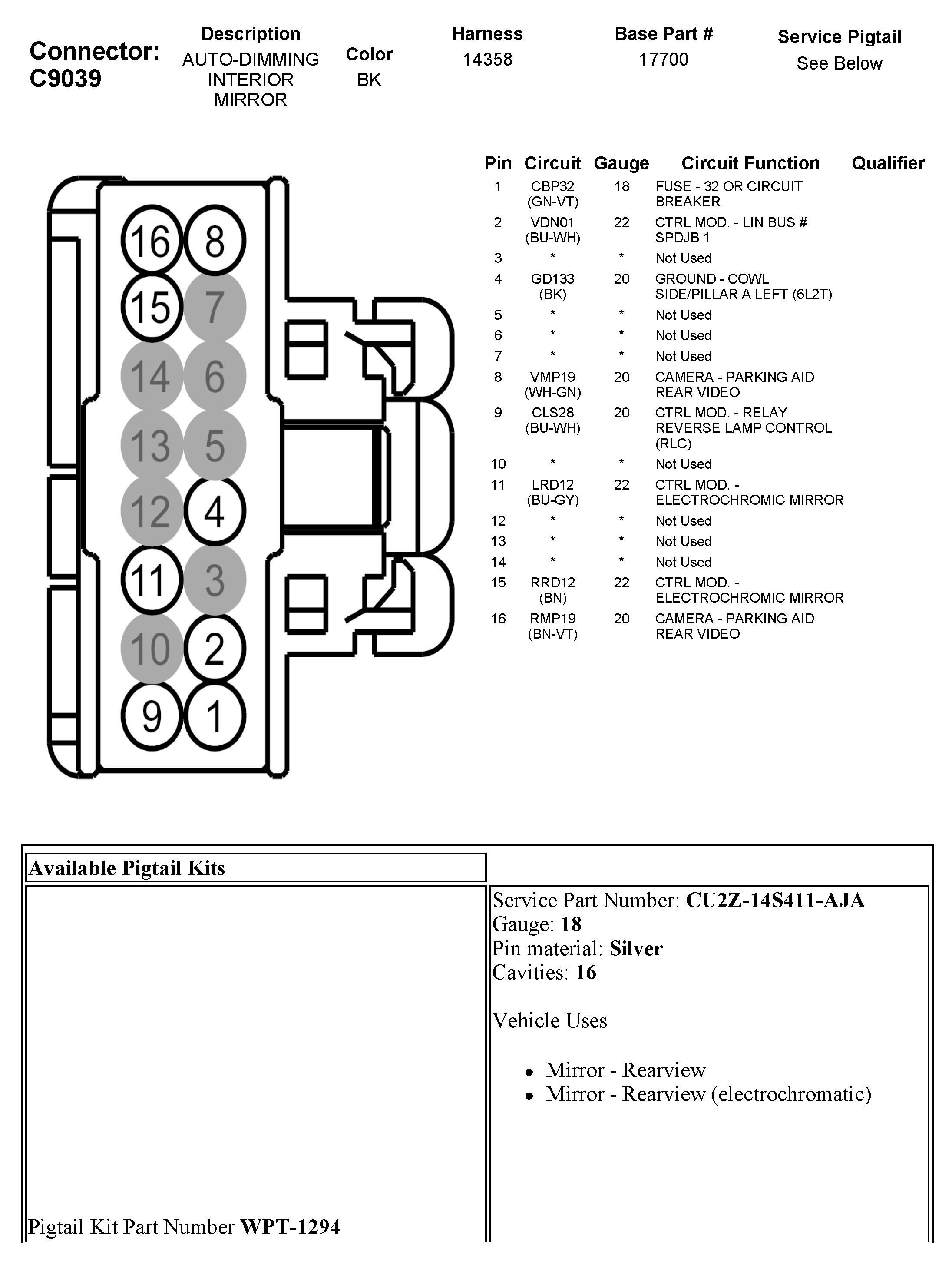 Gntx 313 10 Pin Wiring Diagram 2010 toyota Gentex Mirror Wiring Diagram Wiring Diagram Of Gntx 313 10 Pin Wiring Diagram