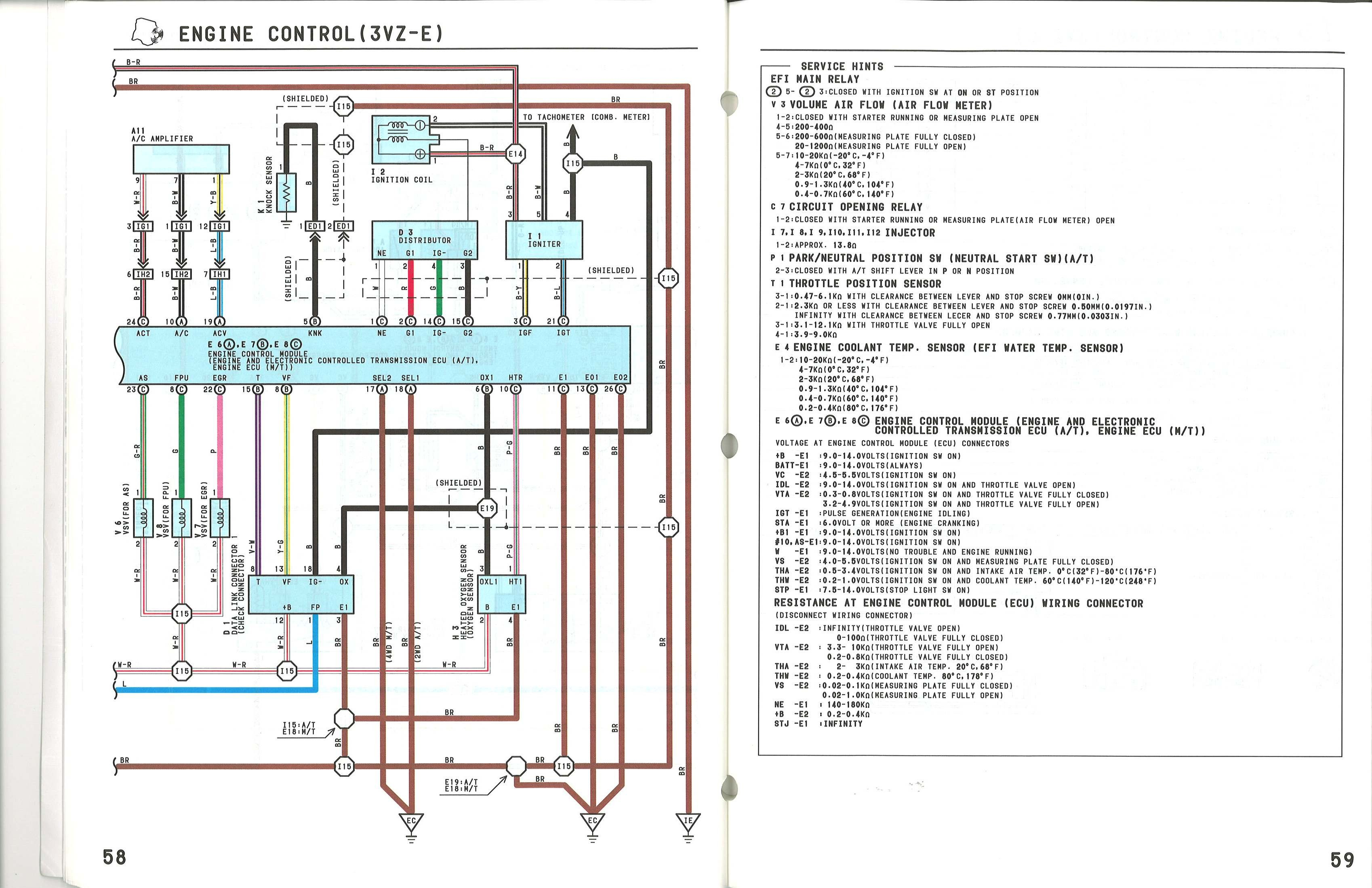 Gramin Wiring for Stricker 4 02 Camry Knock Sensor Wiring Diagram