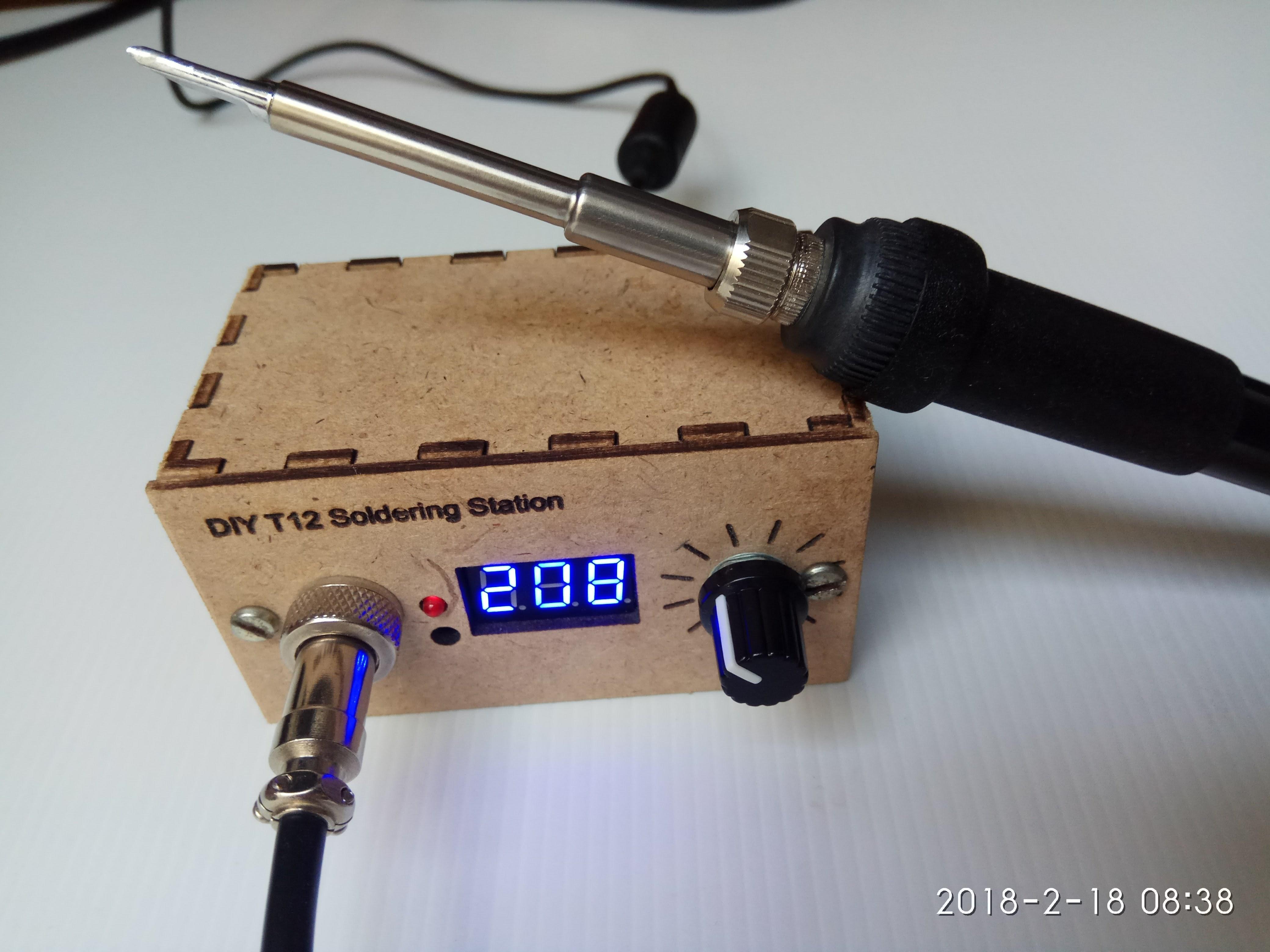 Hakko T12 soldering Tips Build Yourself Hakko T12 Patible soldering Iron Station Of Hakko T12 soldering Tips