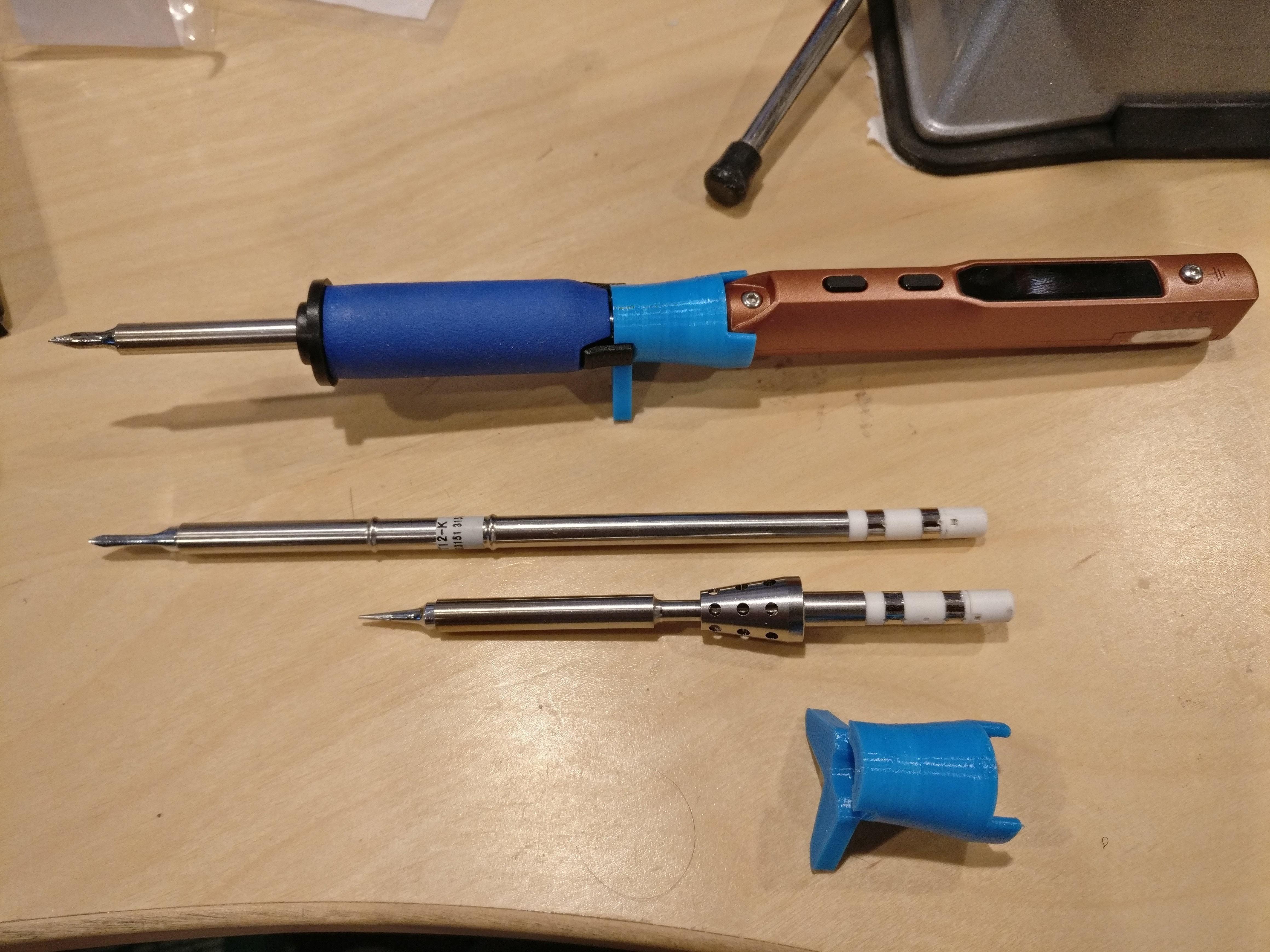 Hakko T12 soldering Tips Hakko T12 Adapter for the Ts100 soldering Iron by Snurkle Of Hakko T12 soldering Tips