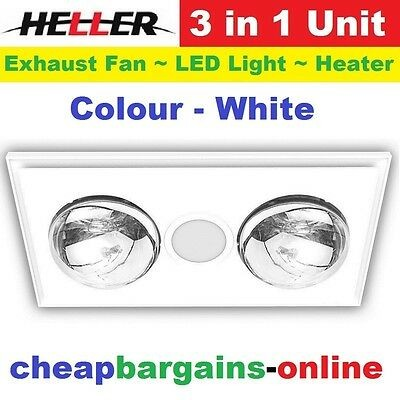 Heller 3 In 1 Lrbh4astra-w Wiring Diagram Heller Led 3 In 1 Bathroom Exhaust Fan with Duct Kit White Lrbh4astra W New $138 00 Of Heller 3 In 1 Lrbh4astra-w Wiring Diagram