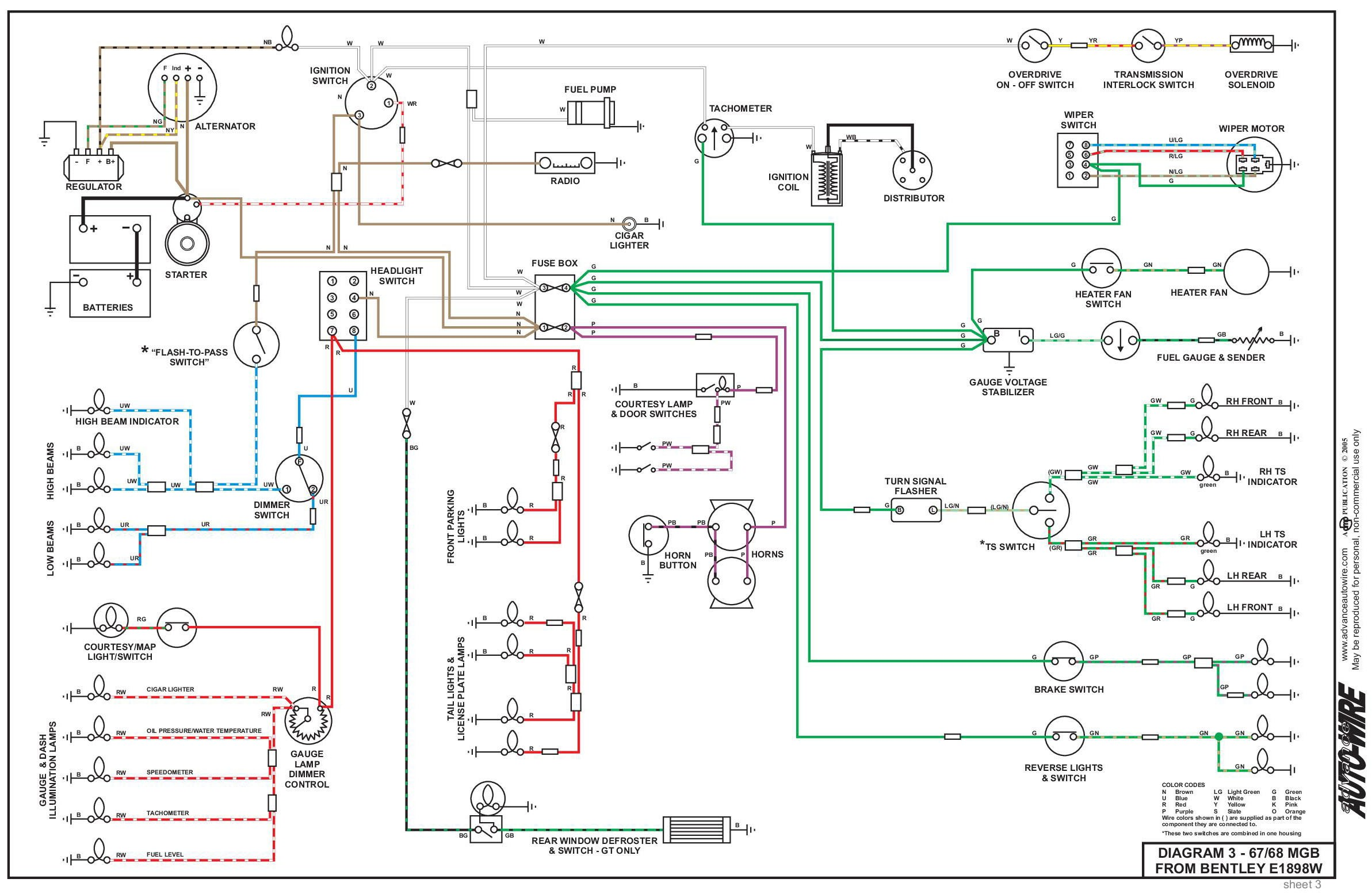 How is A 3 Prong Flasher Wired Electrical System Of How is A 3 Prong Flasher Wired