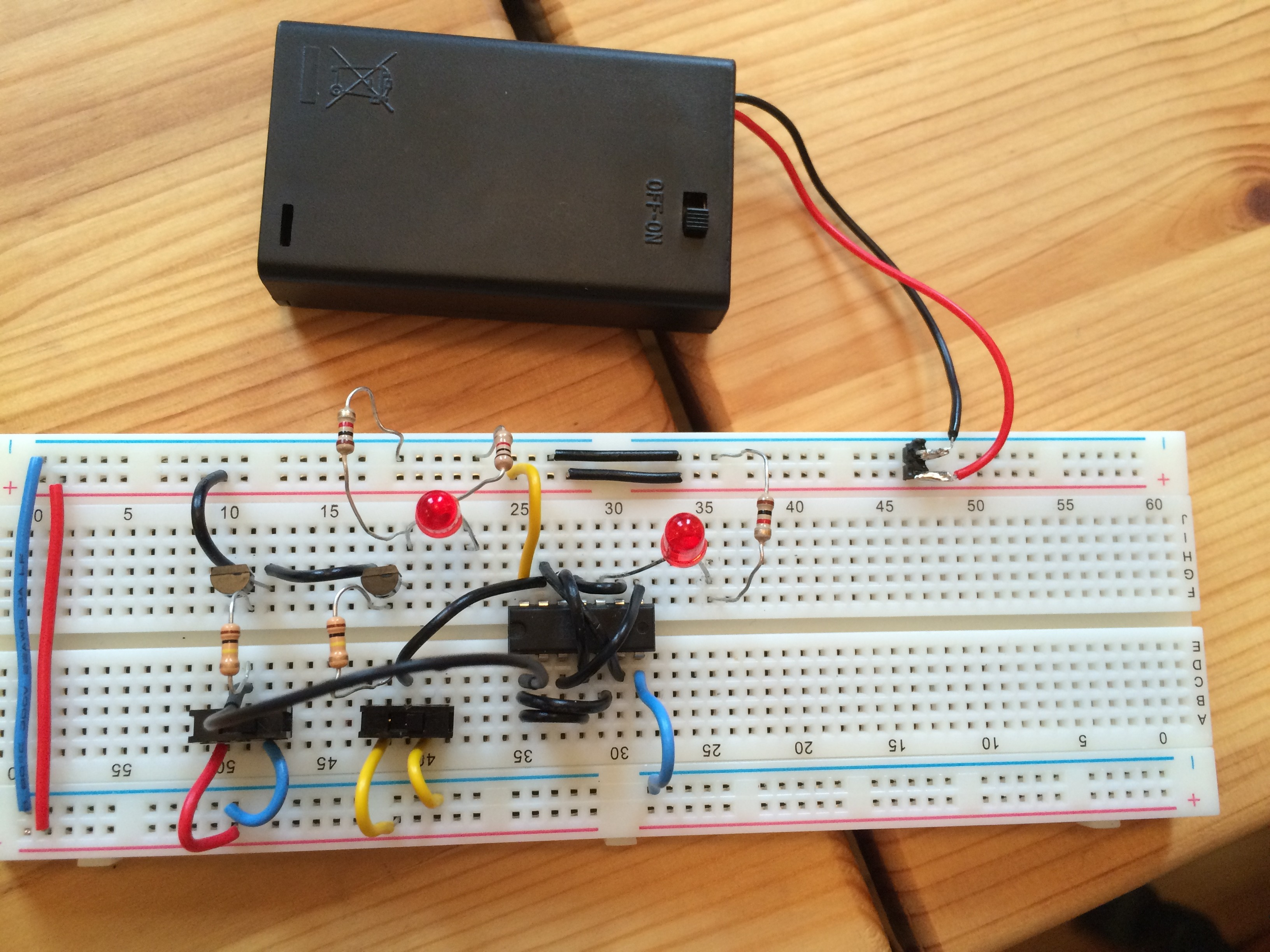 How to Build A Full Adder On A Breadboard Another Round Of Circuits and David Horvitz Of How to Build A Full Adder On A Breadboard