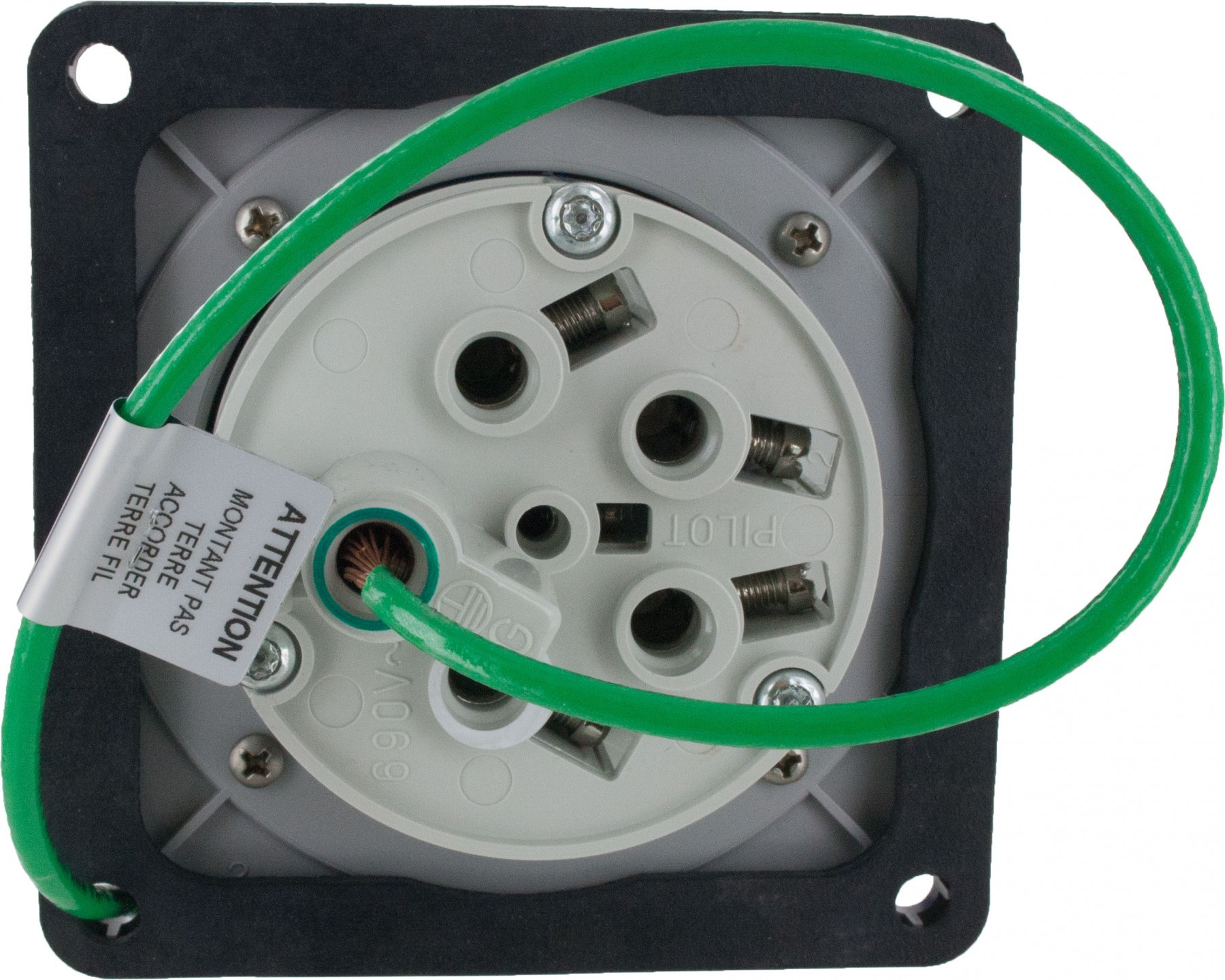 How to Wire 3 Phase 60 Amp Disconnect 560b9w Pin and Sleeve Inlet 60 Amp Of How to Wire 3 Phase 60 Amp Disconnect
