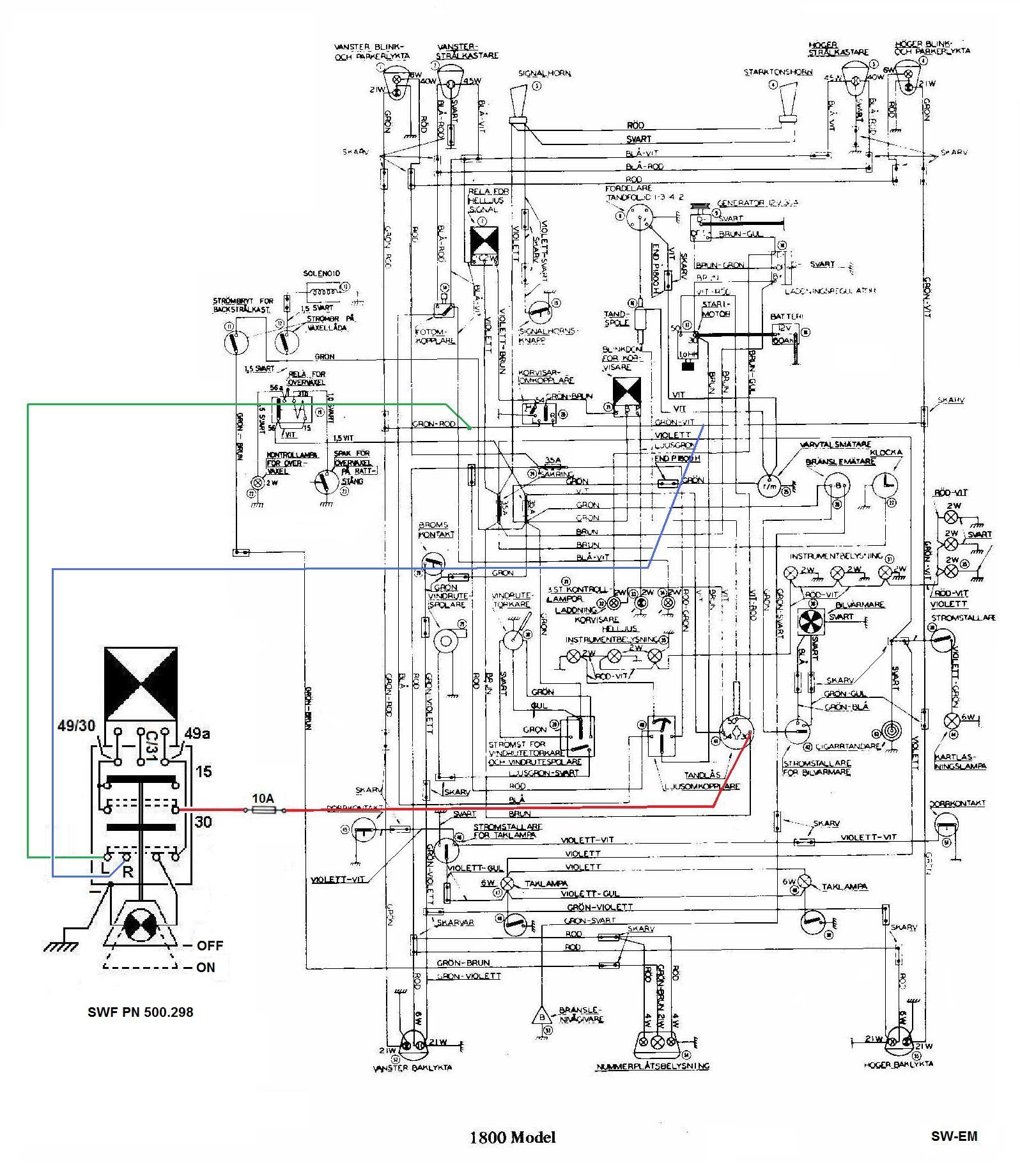 How to Wire 3 Wire Flasher Sw Em Emergency Flasher Of How to Wire 3 Wire Flasher