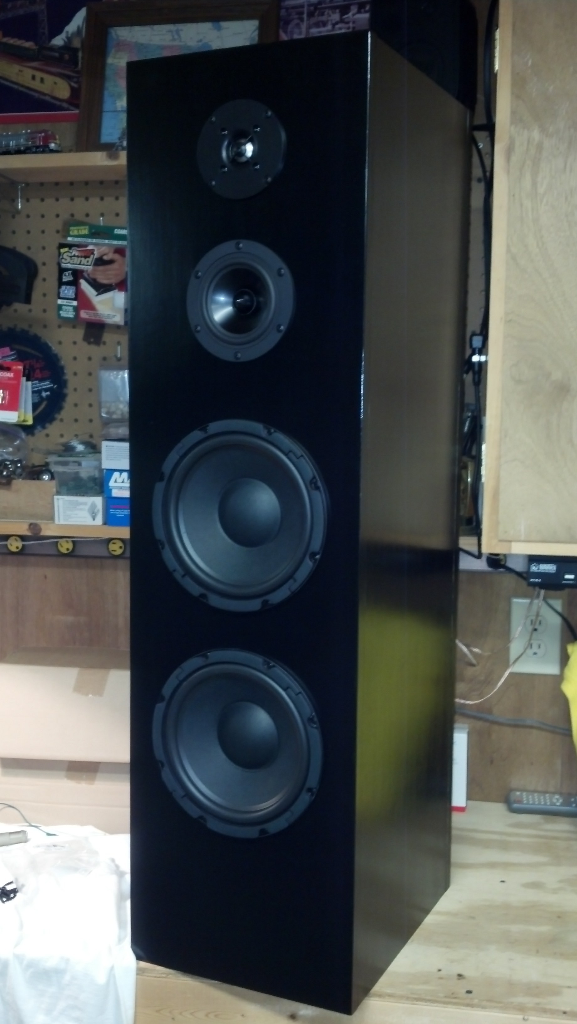 How to Wire A Speaker Cabinet 4 Driver 3 Way Floor Standing tower Speaker Of How to Wire A Speaker Cabinet